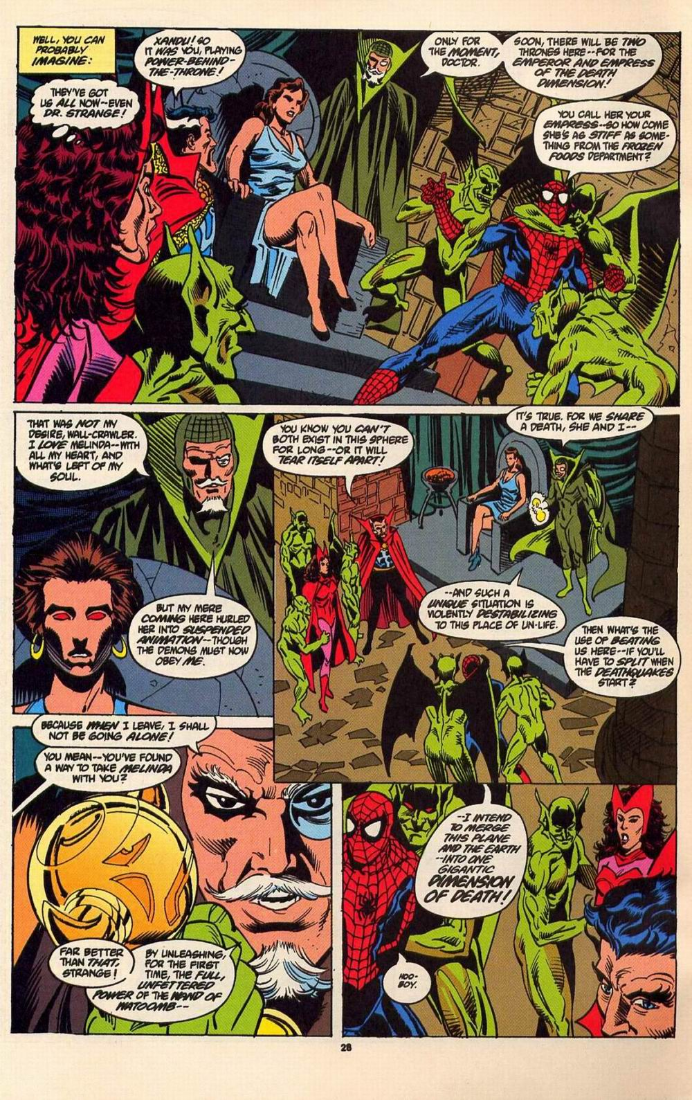 Read online Secret Defenders comic -  Issue #6 - 21