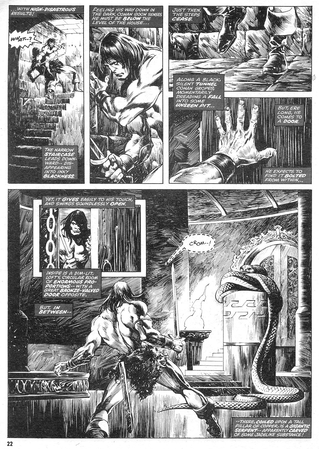 The Savage Sword Of Conan Issue #15 #16 - English 22