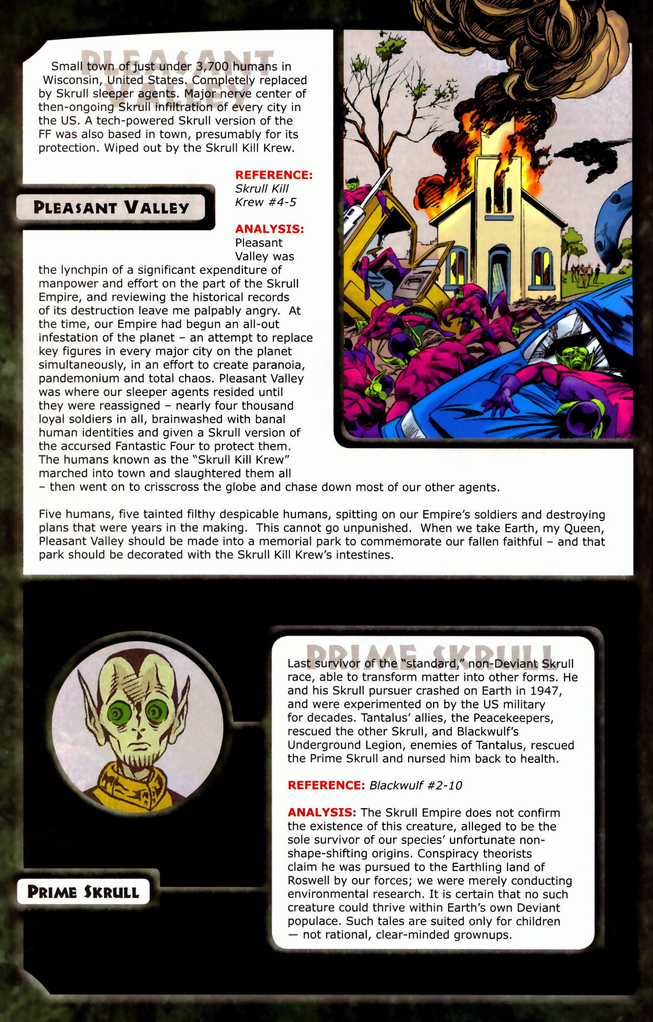 Read online Skrulls! comic -  Issue # Full - 34