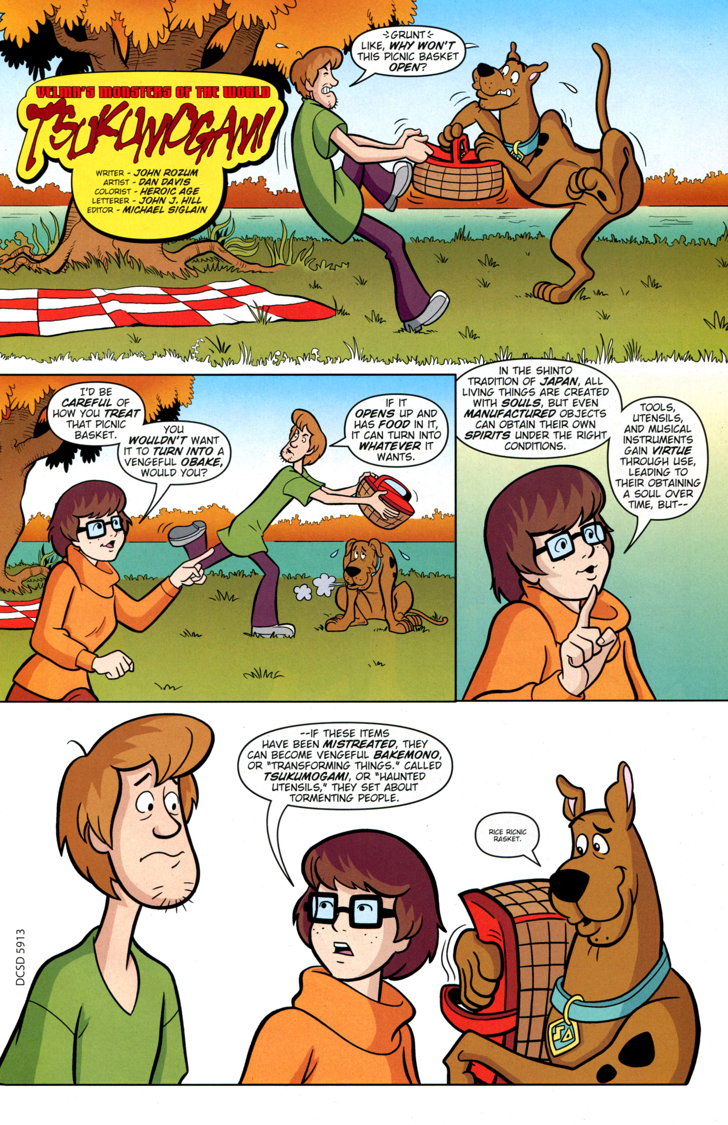 Read online Scooby-Doo: Where Are You? comic -  Issue #17 - 17