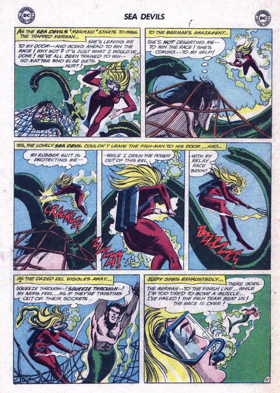 Read online Sea Devils comic -  Issue #14 - 30