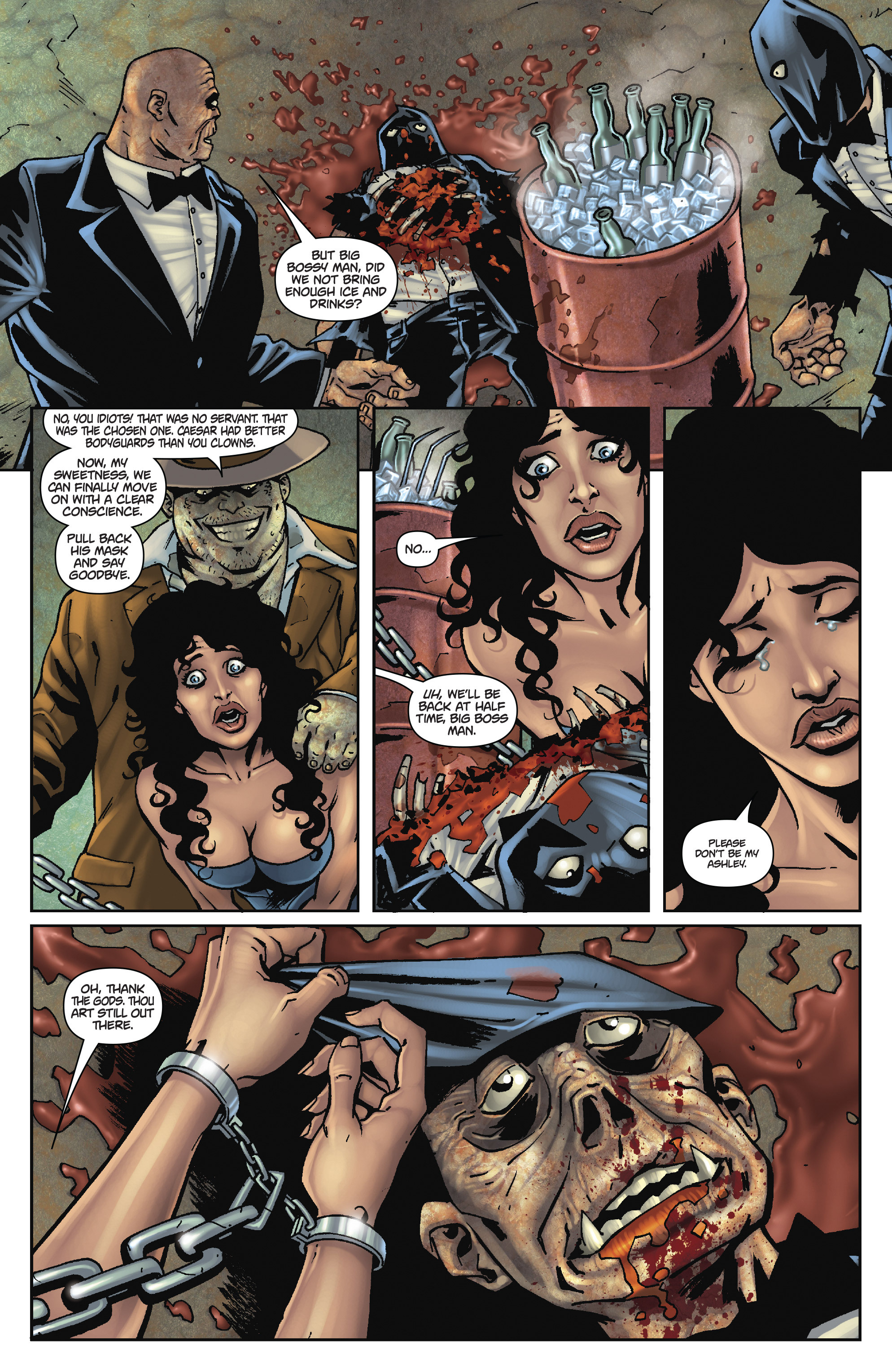 Army of Darkness: The Long Road Home TPB Page 88
