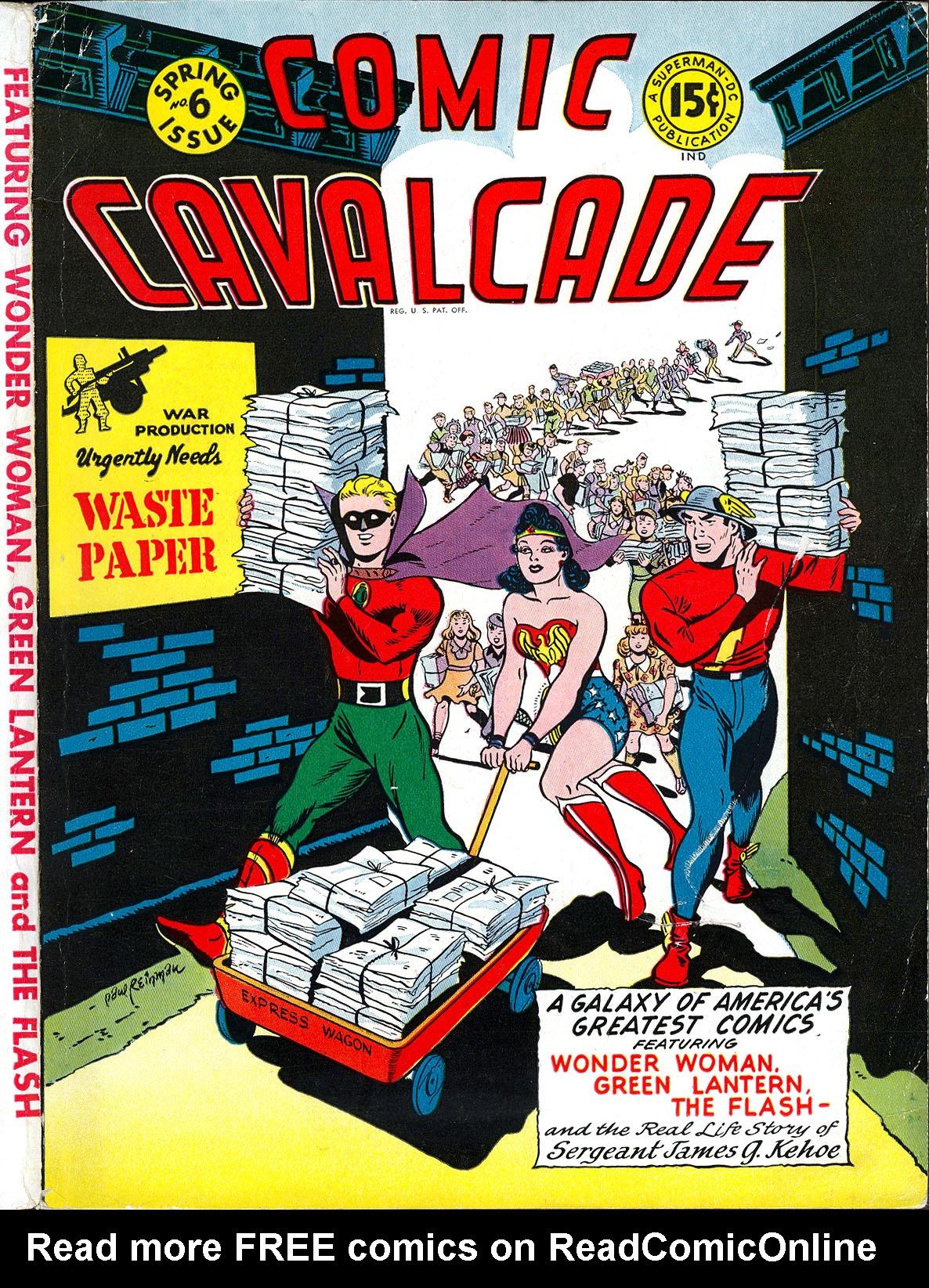 Comic Cavalcade 6 Page 1