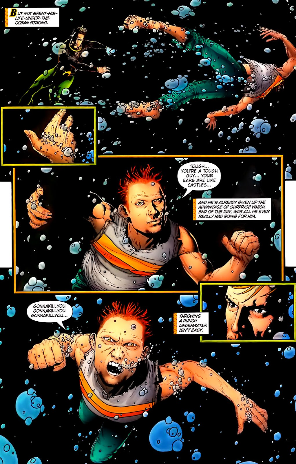Aquaman (2003) Issue #30 #30 - English 17