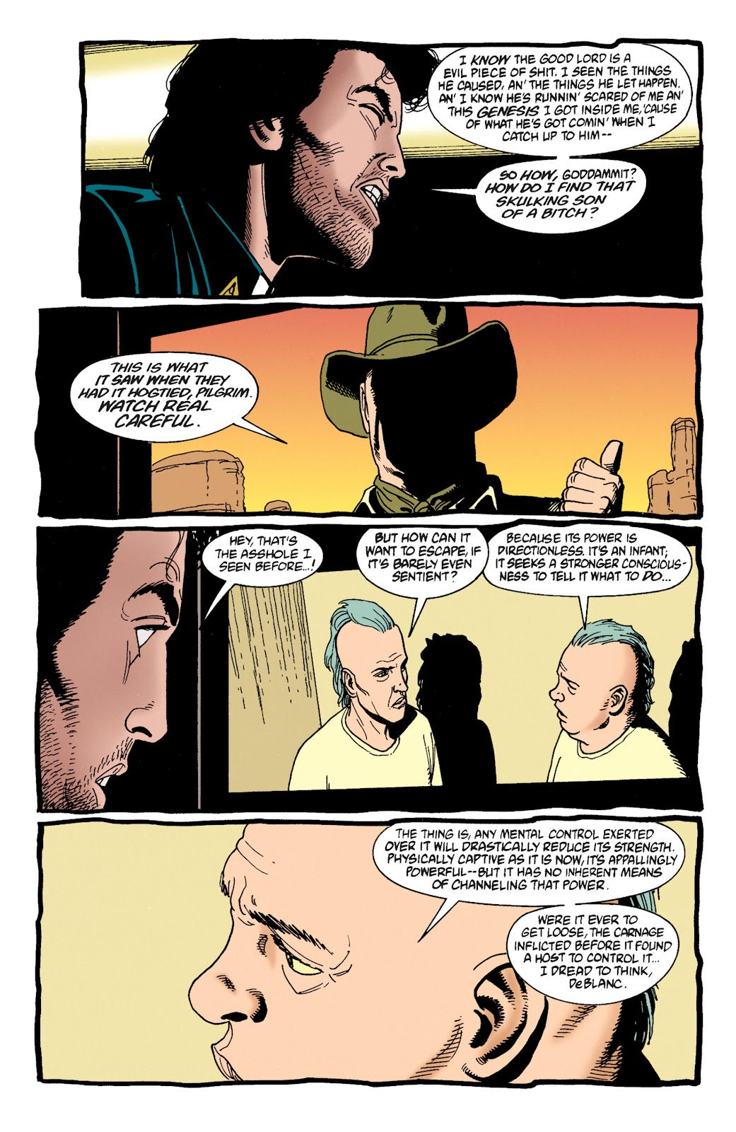 Preacher Issue #32 #41 - English 21