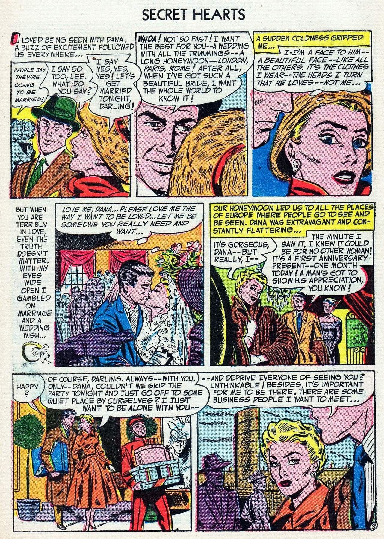 Read online Secret Hearts comic -  Issue #16 - 5