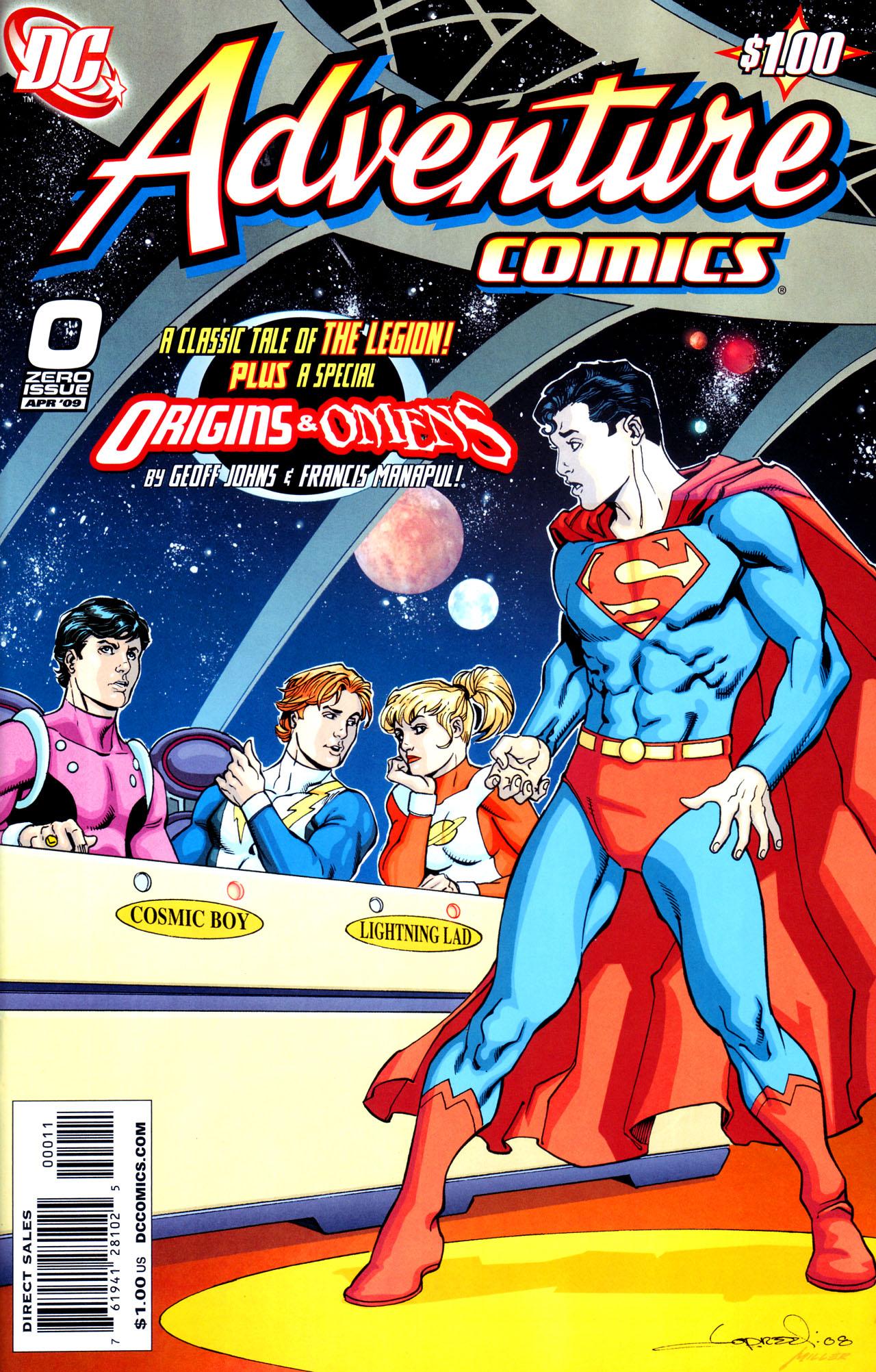 Adventure Comics (2009) 0 Page 1