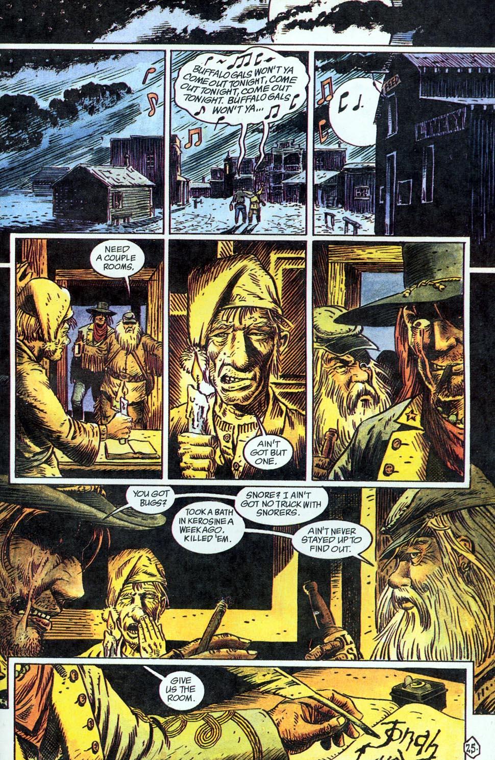 Jonah Hex: Two-Gun Mojo Issue #1 #1 - English 27