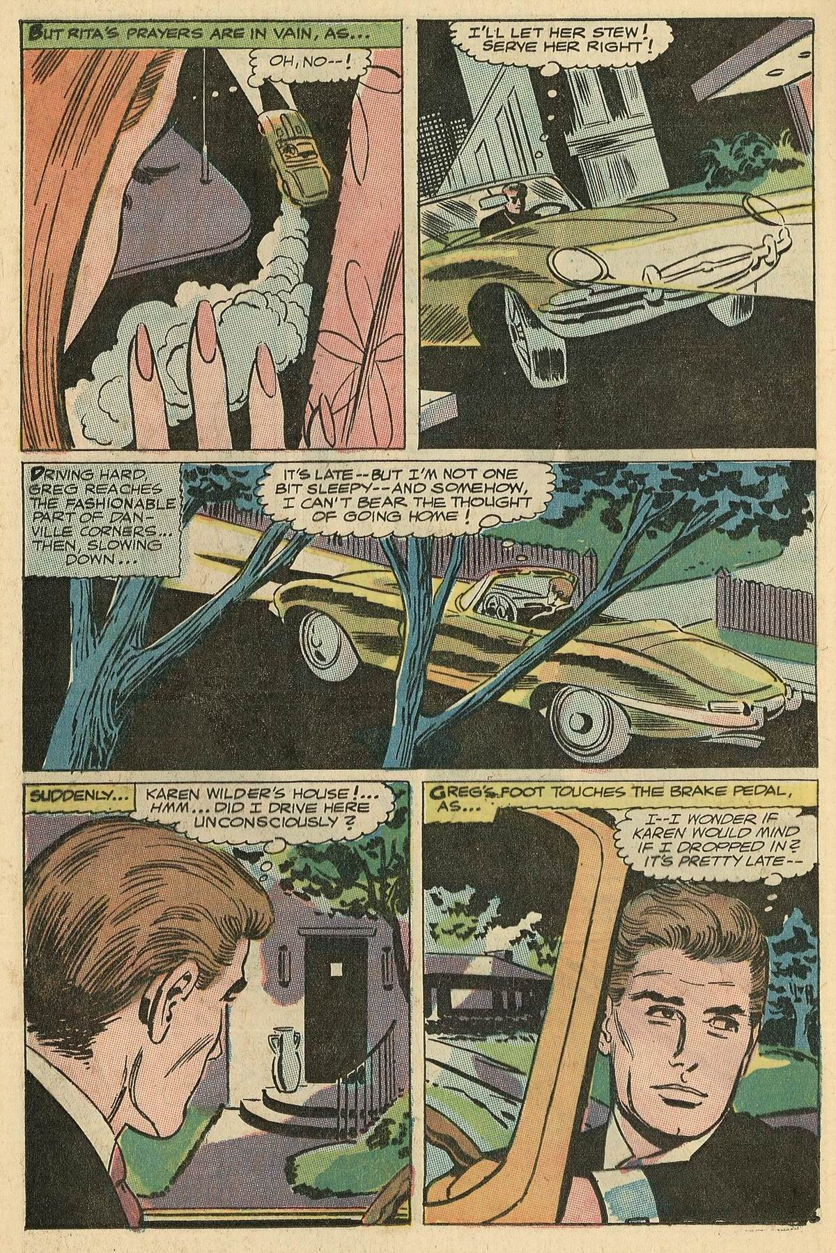 Read online Secret Hearts comic -  Issue #125 - 24