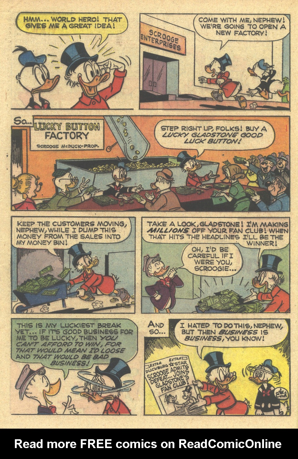 Uncle Scrooge (1953) Issue #76 #76 - English 32