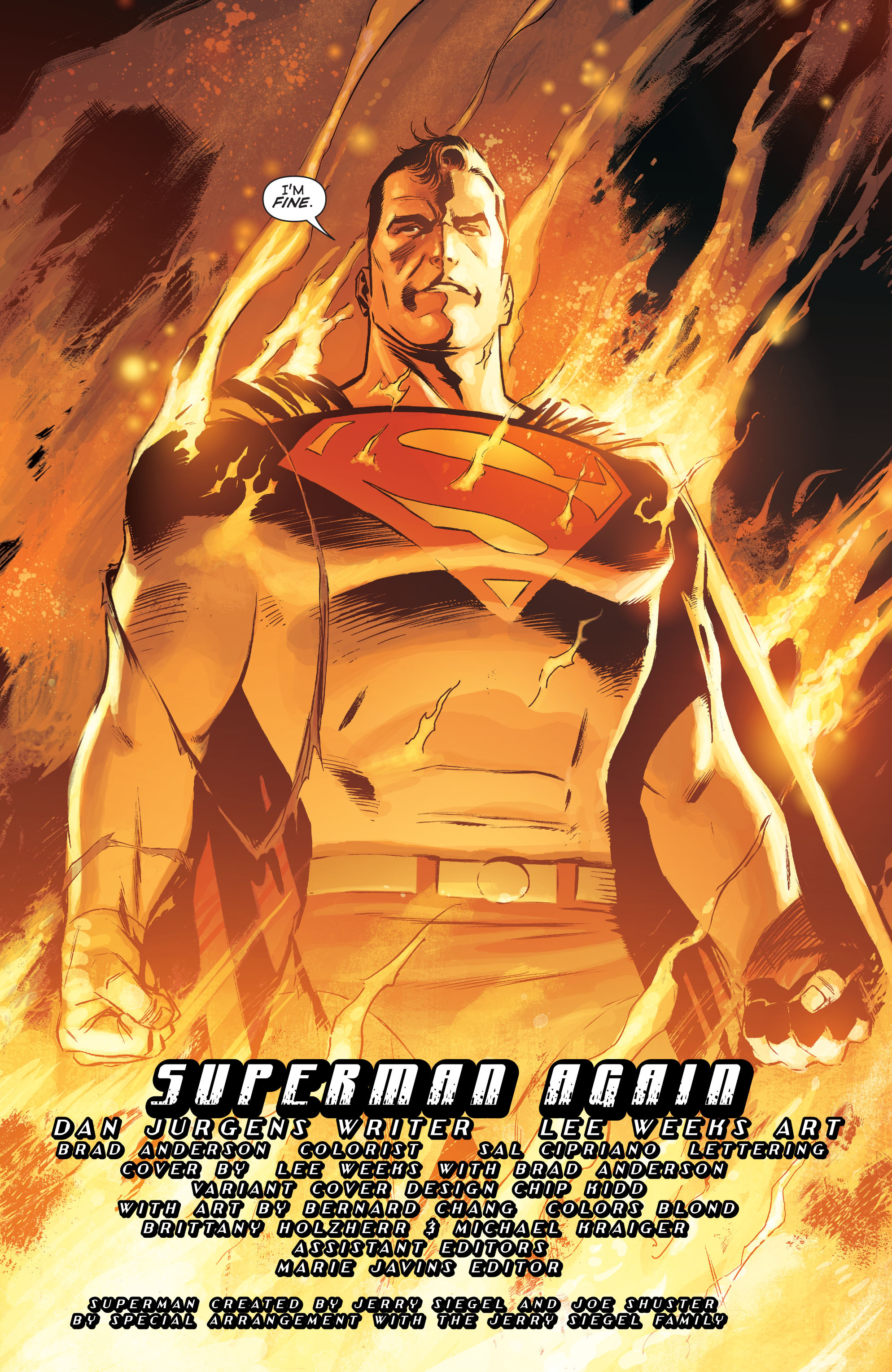 Read online Convergence Superman comic -  Issue #1 - 6