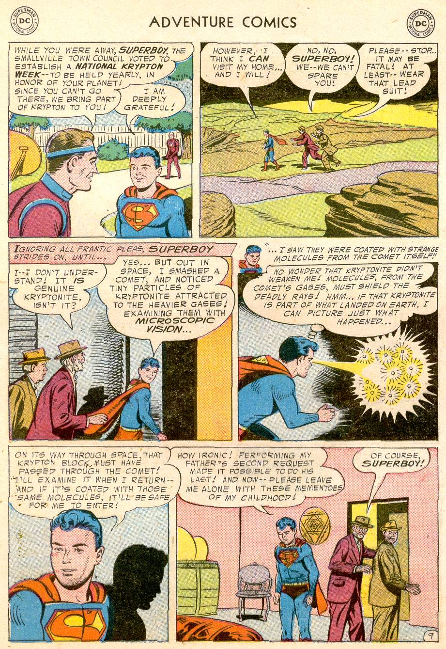 Read online Adventure Comics (1938) comic -  Issue #232 - 11