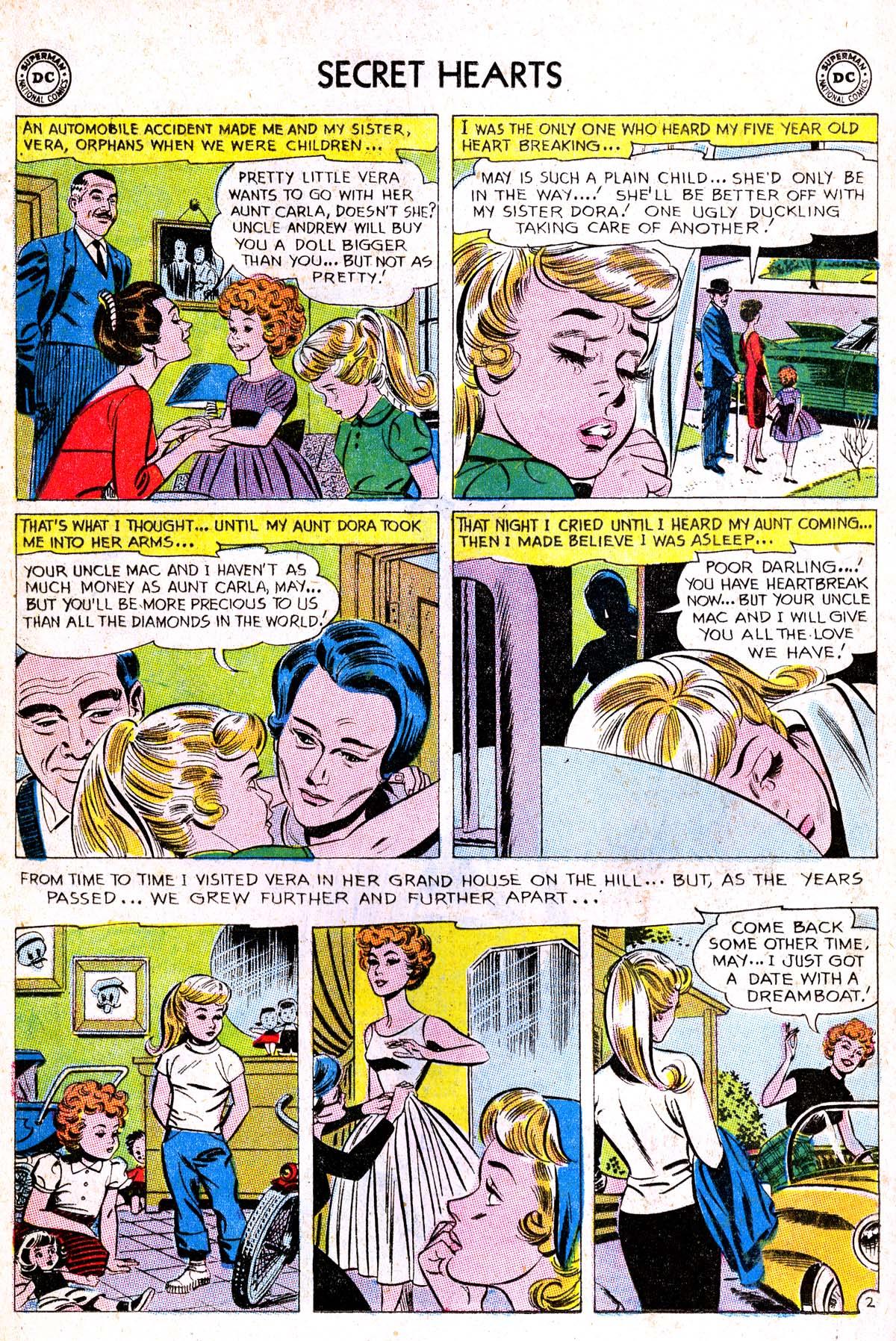 Read online Secret Hearts comic -  Issue #85 - 28