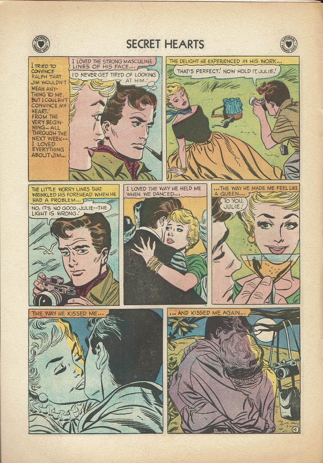 Read online Secret Hearts comic -  Issue #47 - 6