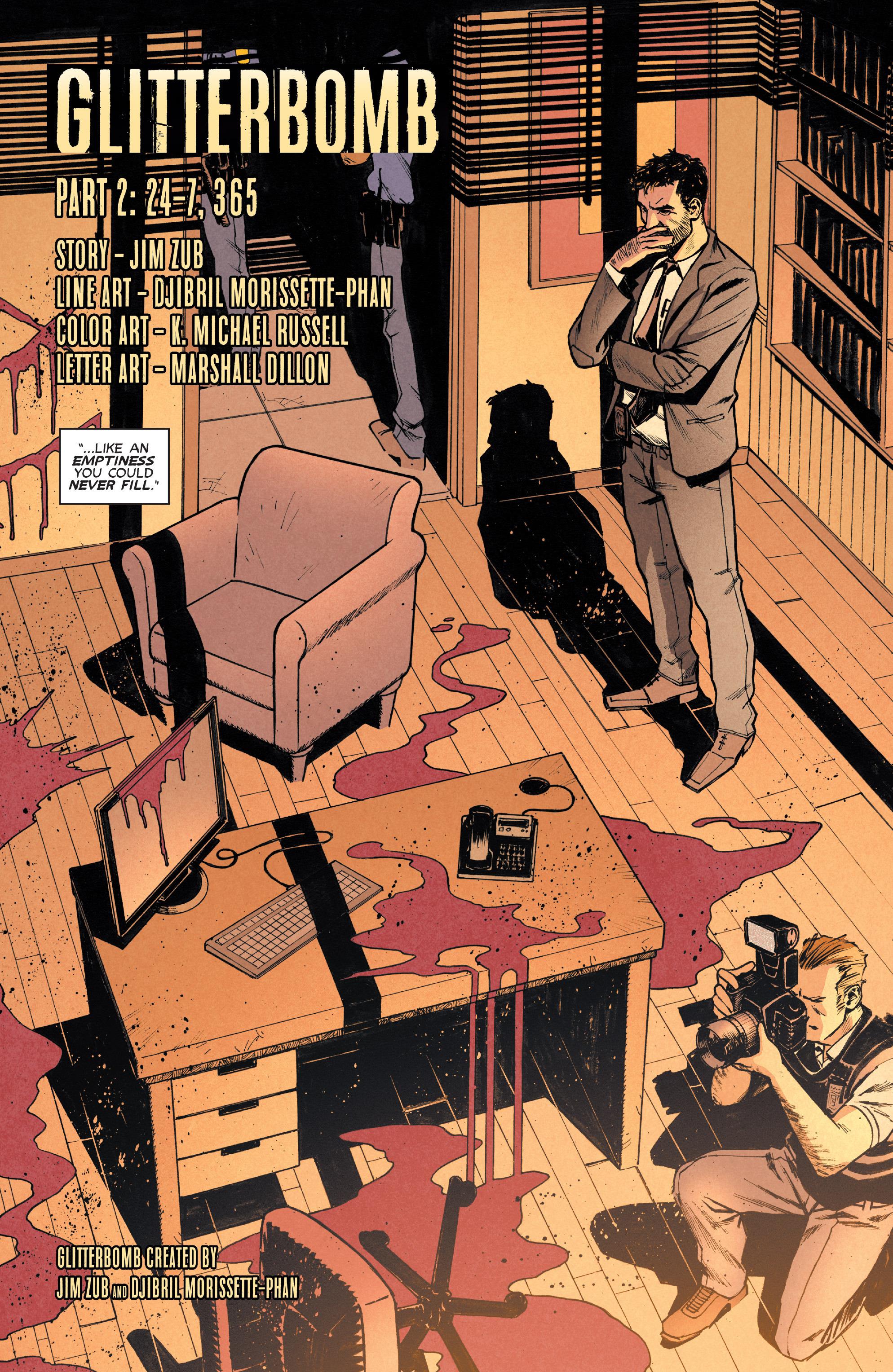 Read online Glitterbomb comic -  Issue #2 - 6