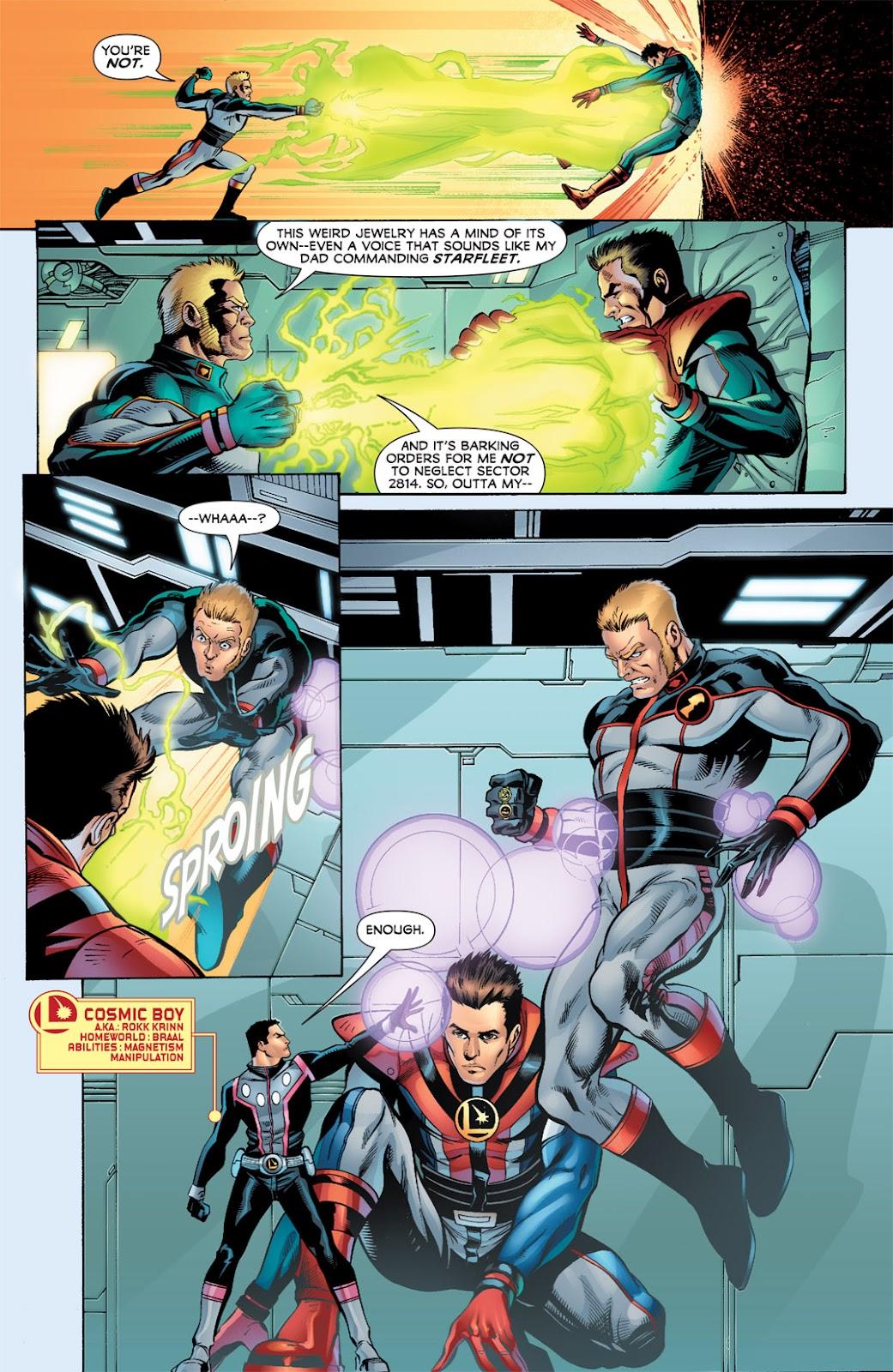 Legion of Super-Heroes (2010) Issue #3 #4 - English 5