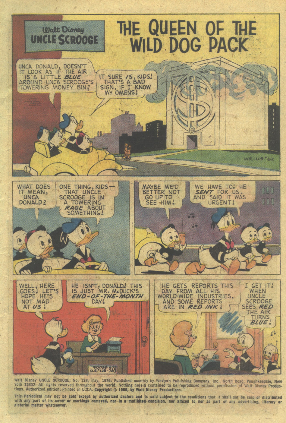 Uncle Scrooge (1953) Issue #128 #128 - English 3