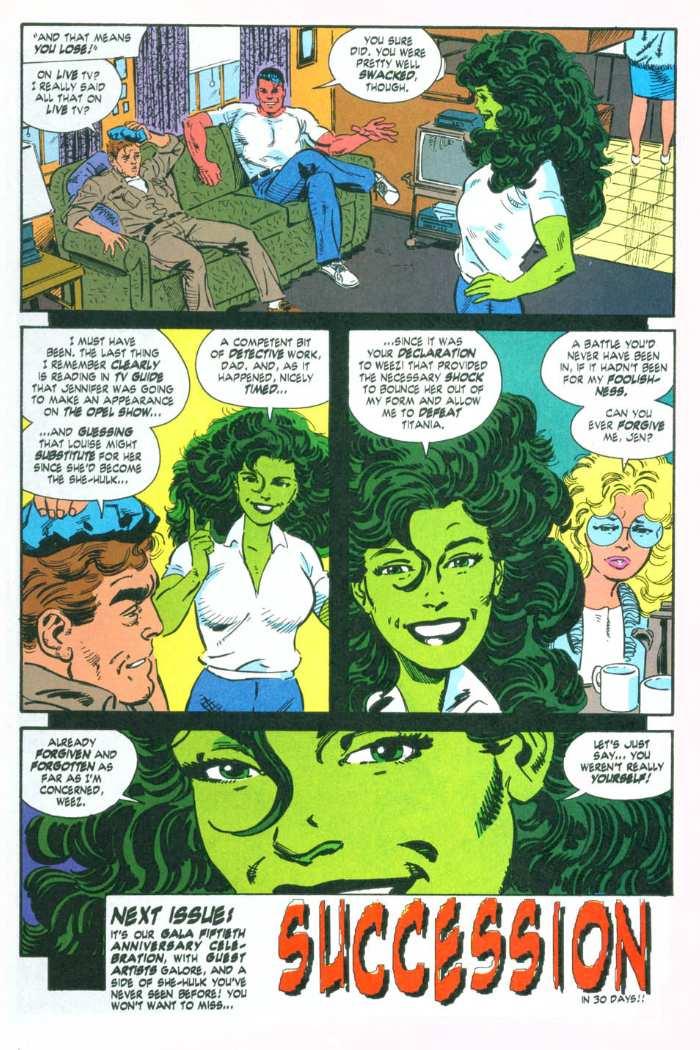 The Sensational She-Hulk Issue #49 #49 - English 25