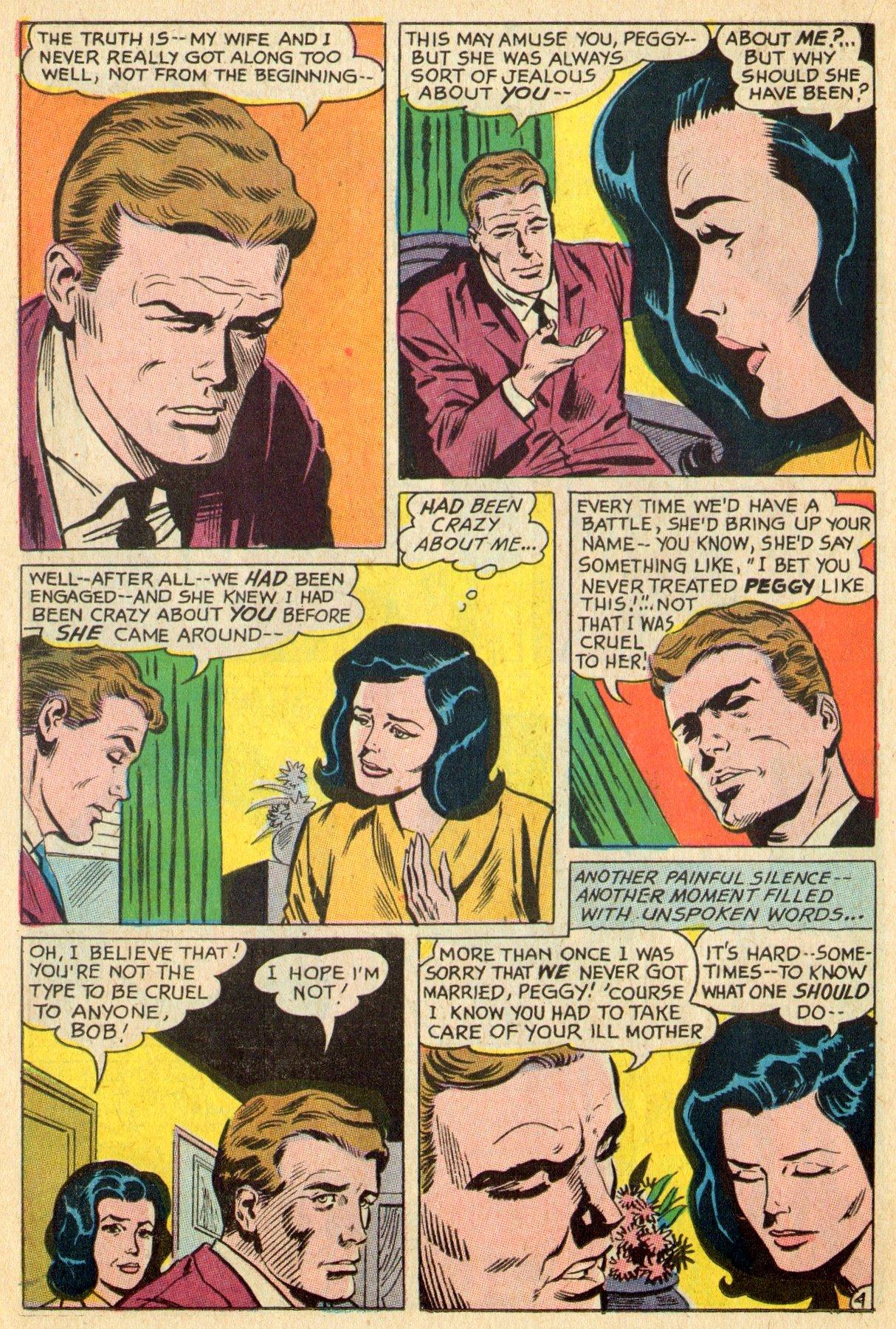 Read online Secret Hearts comic -  Issue #119 - 22