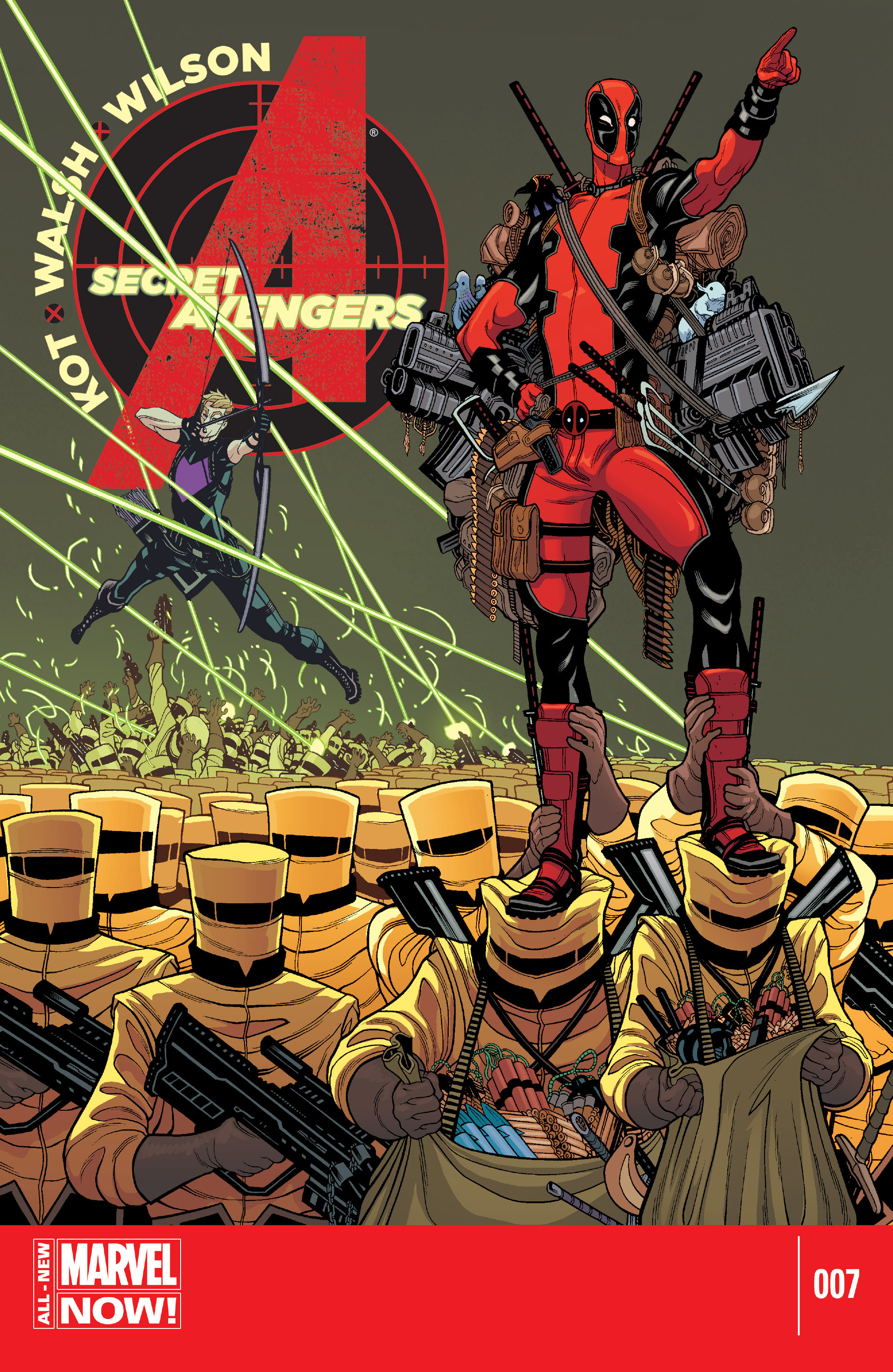 Read online Secret Avengers (2014) comic -  Issue #7 - 1