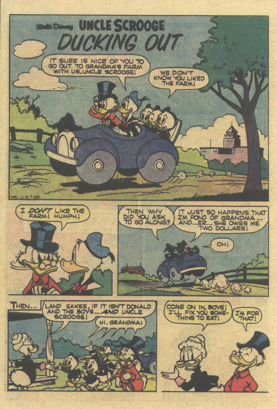 Uncle Scrooge (1953) Issue #185 #185 - English 28