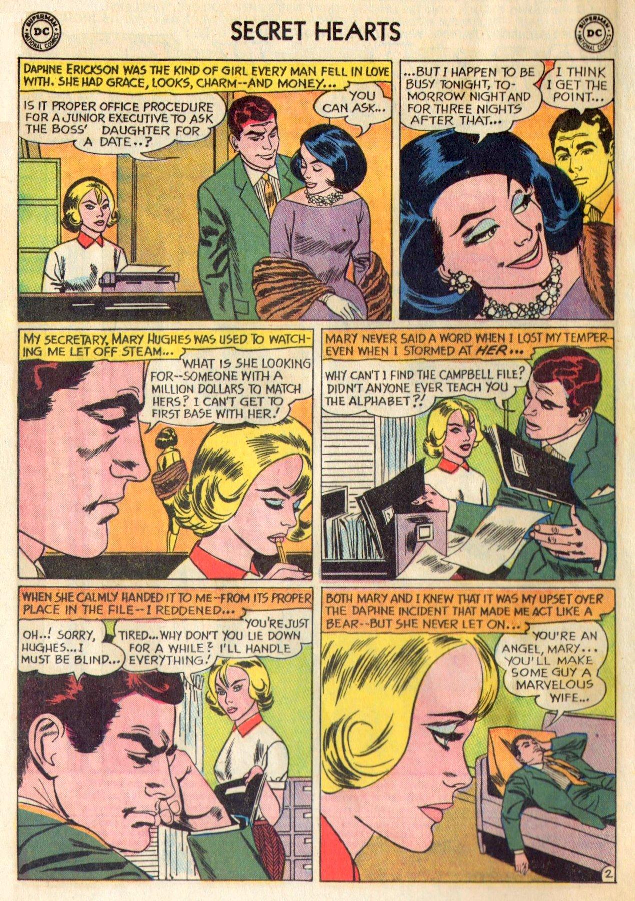 Read online Secret Hearts comic -  Issue #84 - 4