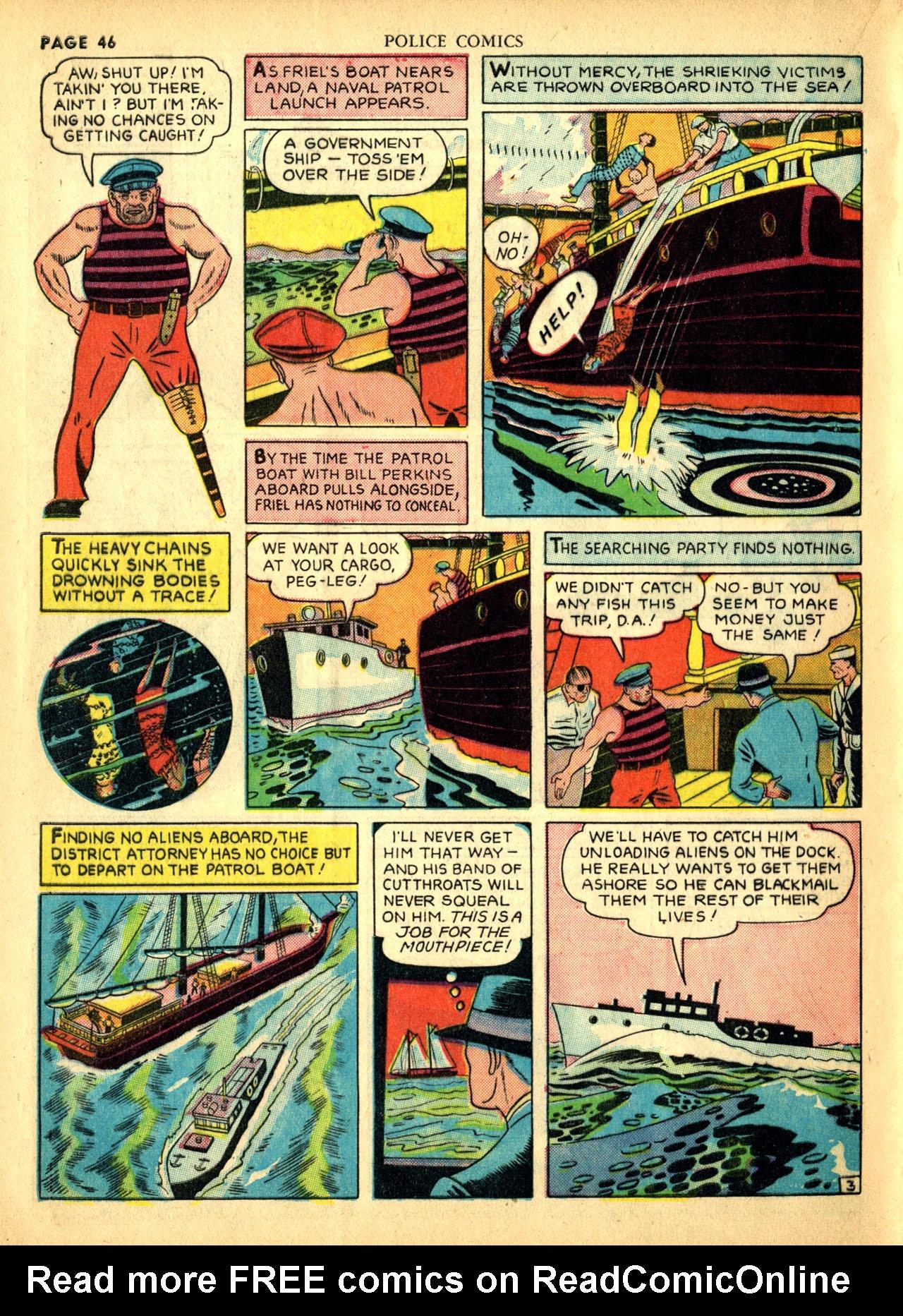 Police Comics #1 #127 - English 49