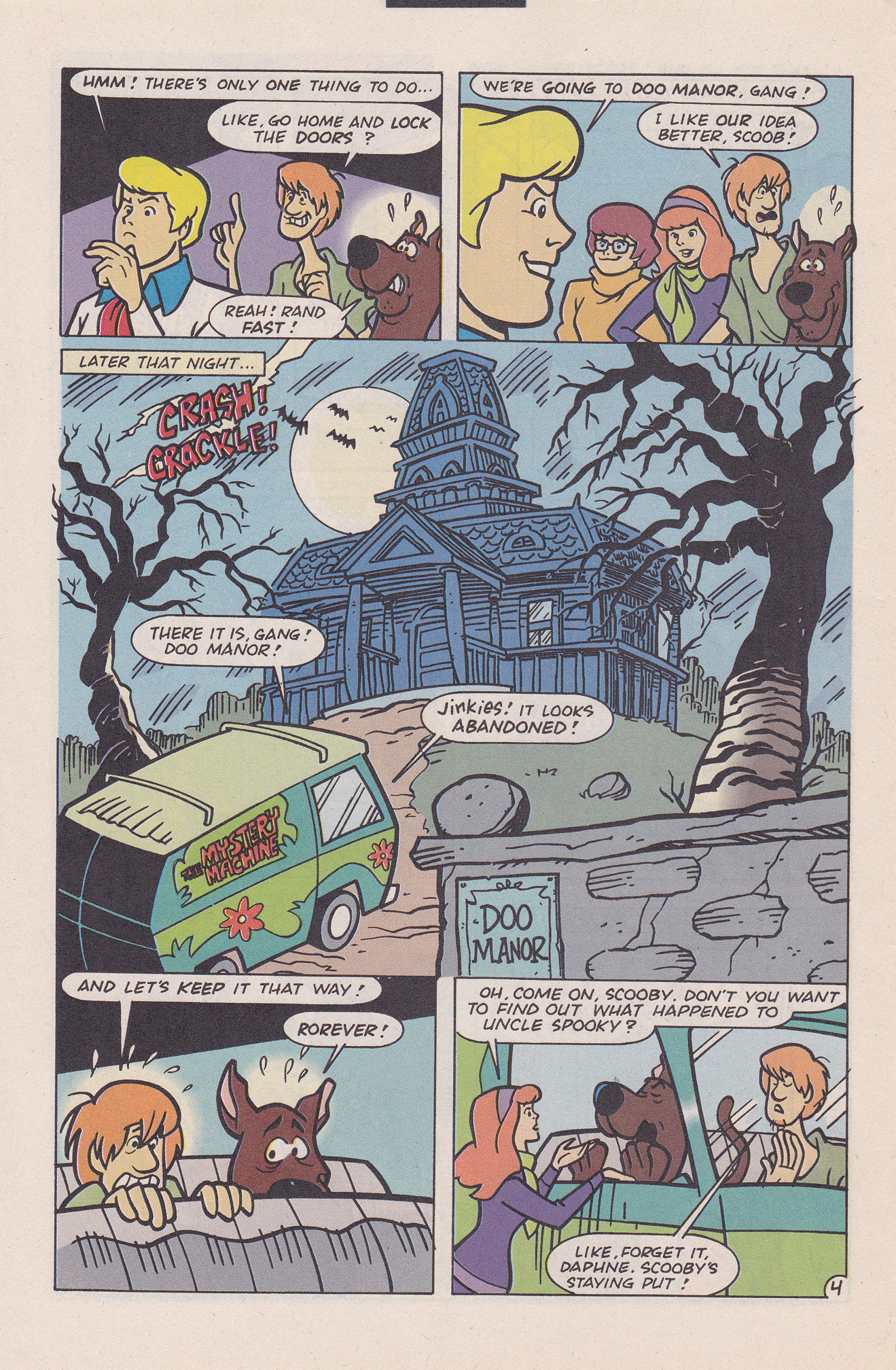 Read online Scooby-Doo (1995) comic -  Issue #20 - 6