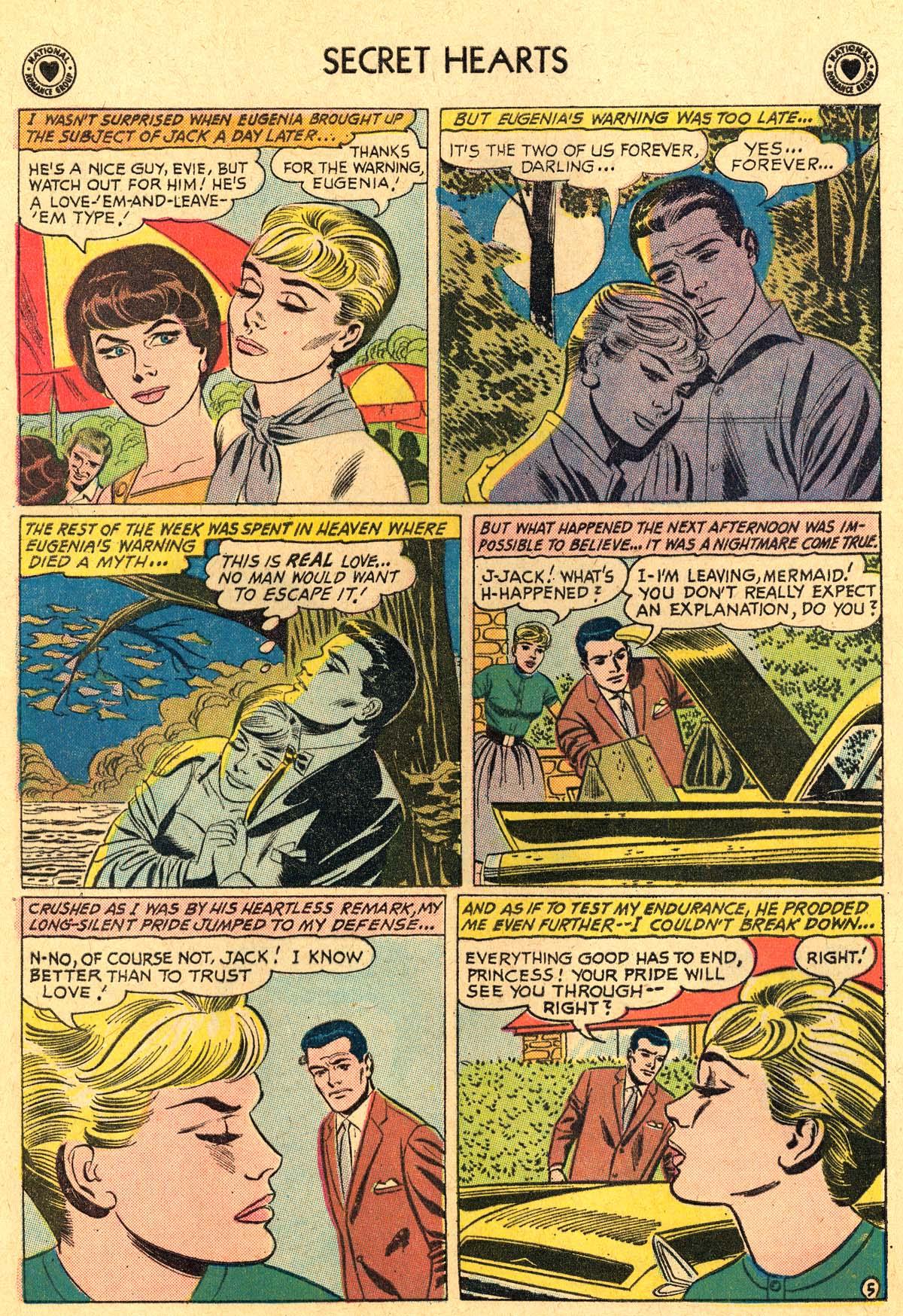 Read online Secret Hearts comic -  Issue #69 - 24