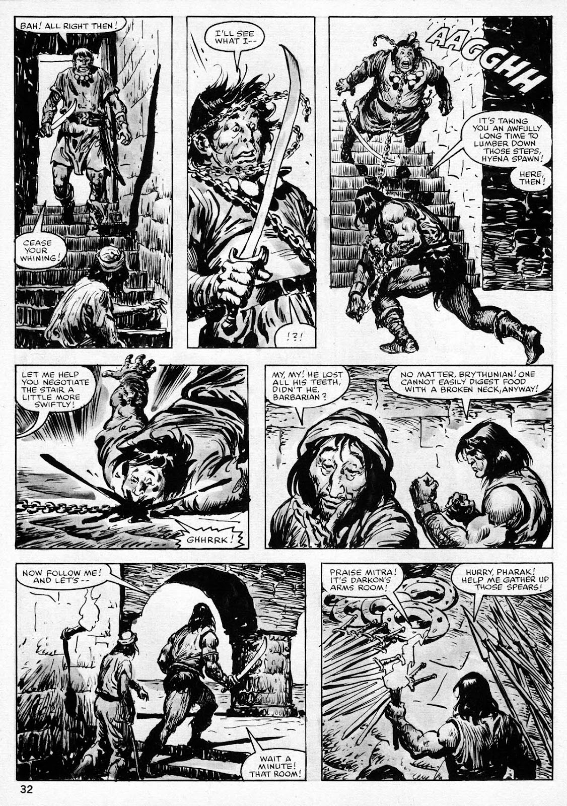 The Savage Sword Of Conan Issue #77 #78 - English 32