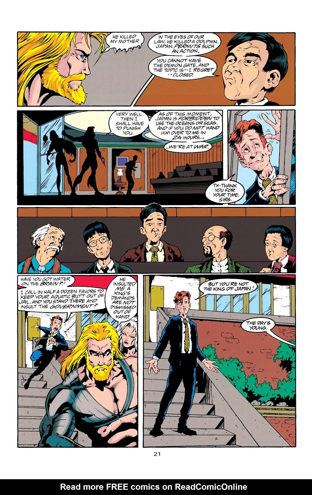 Aquaman (1994) Issue #27 #33 - English 22