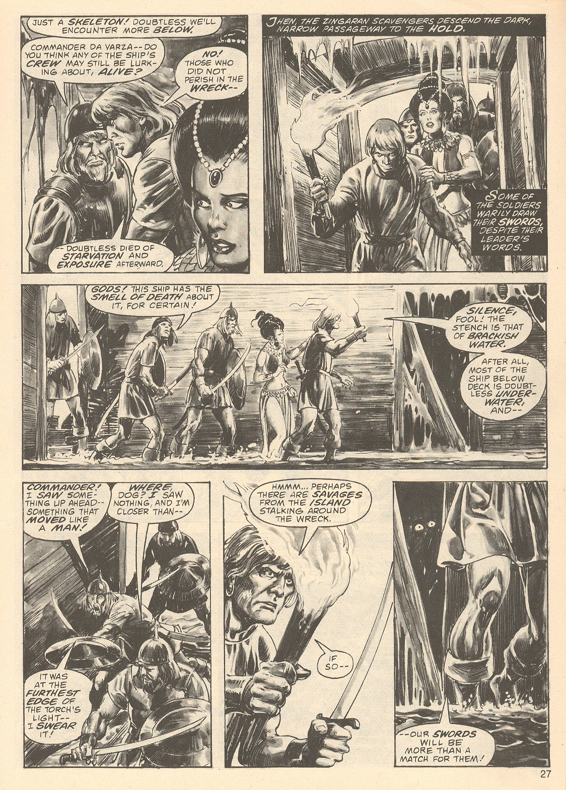 The Savage Sword Of Conan Issue #67 #68 - English 27