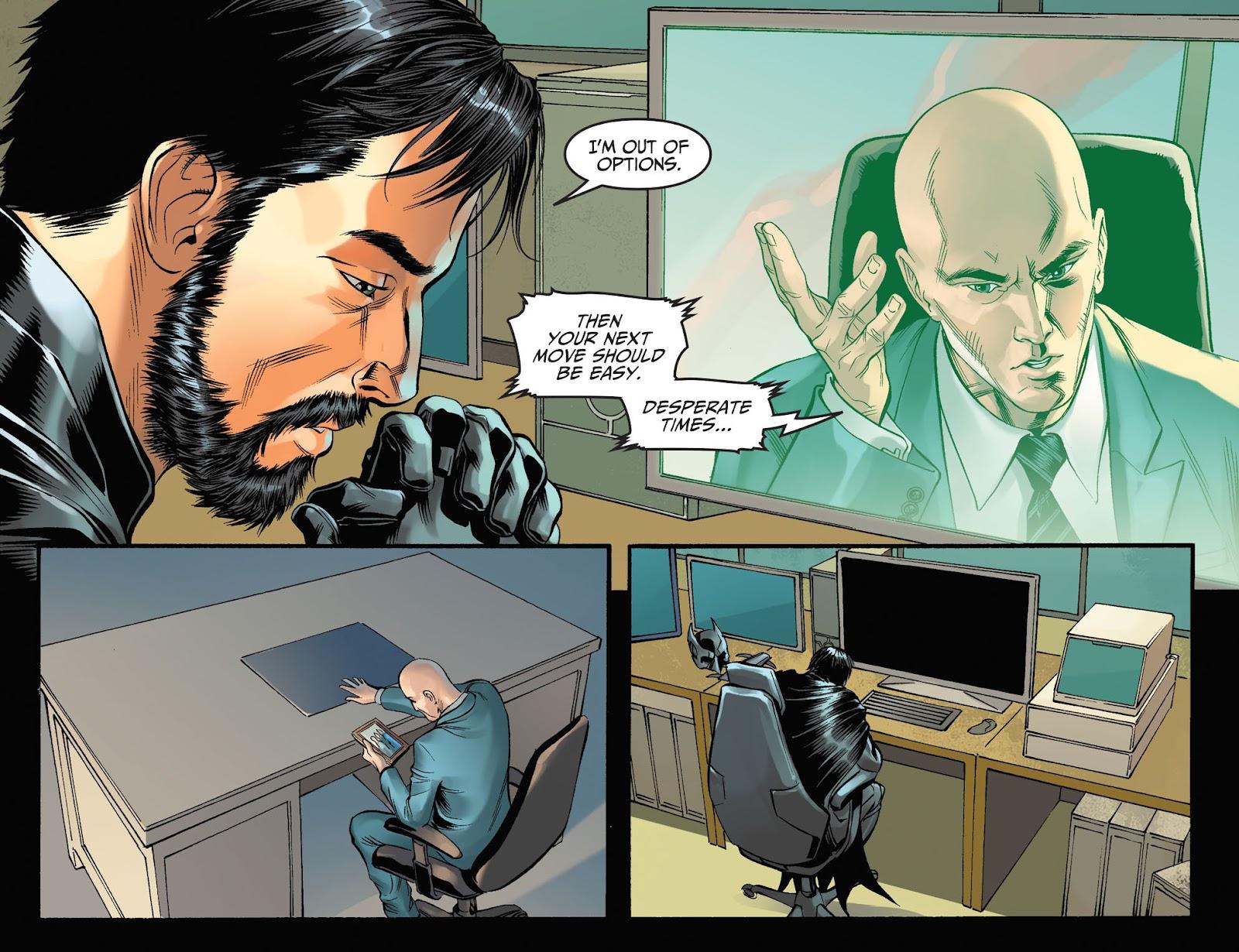 Injustice: Gods Among Us Year Four Issue #7 #8 - English 11
