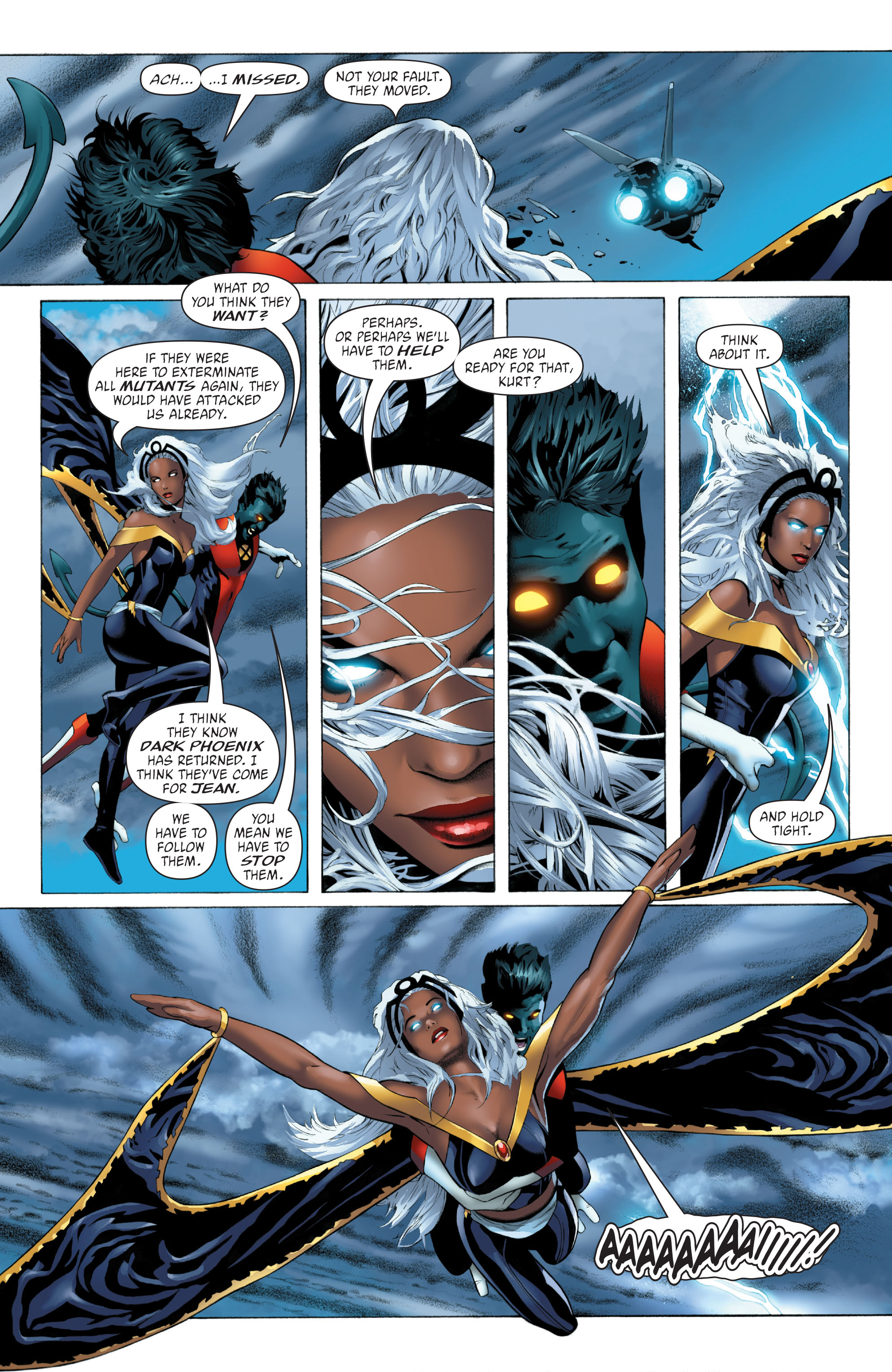 Read online X-Men: Phoenix - Endsong comic -  Issue #3 - 5