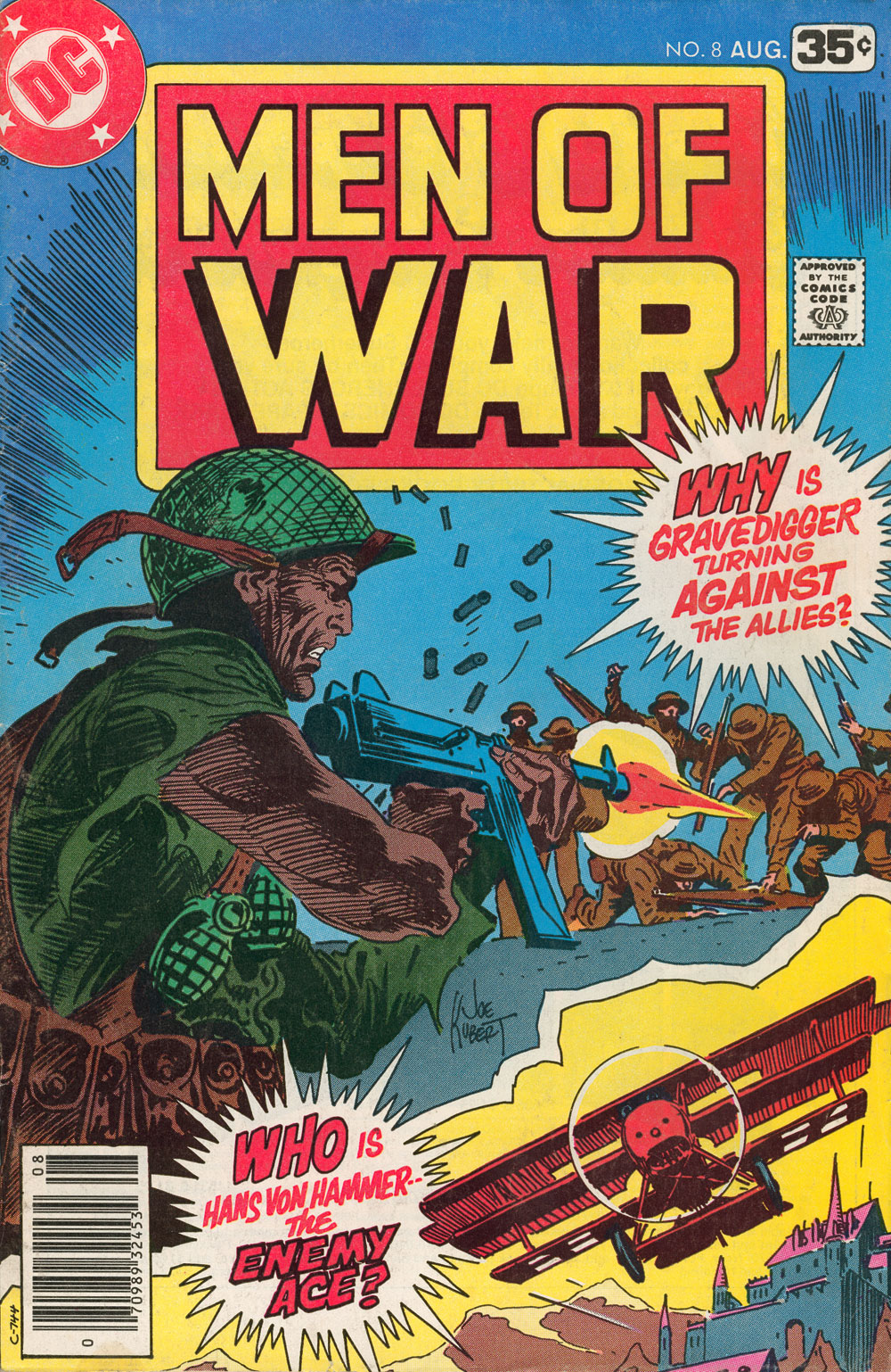 Men of War 8 Page 1