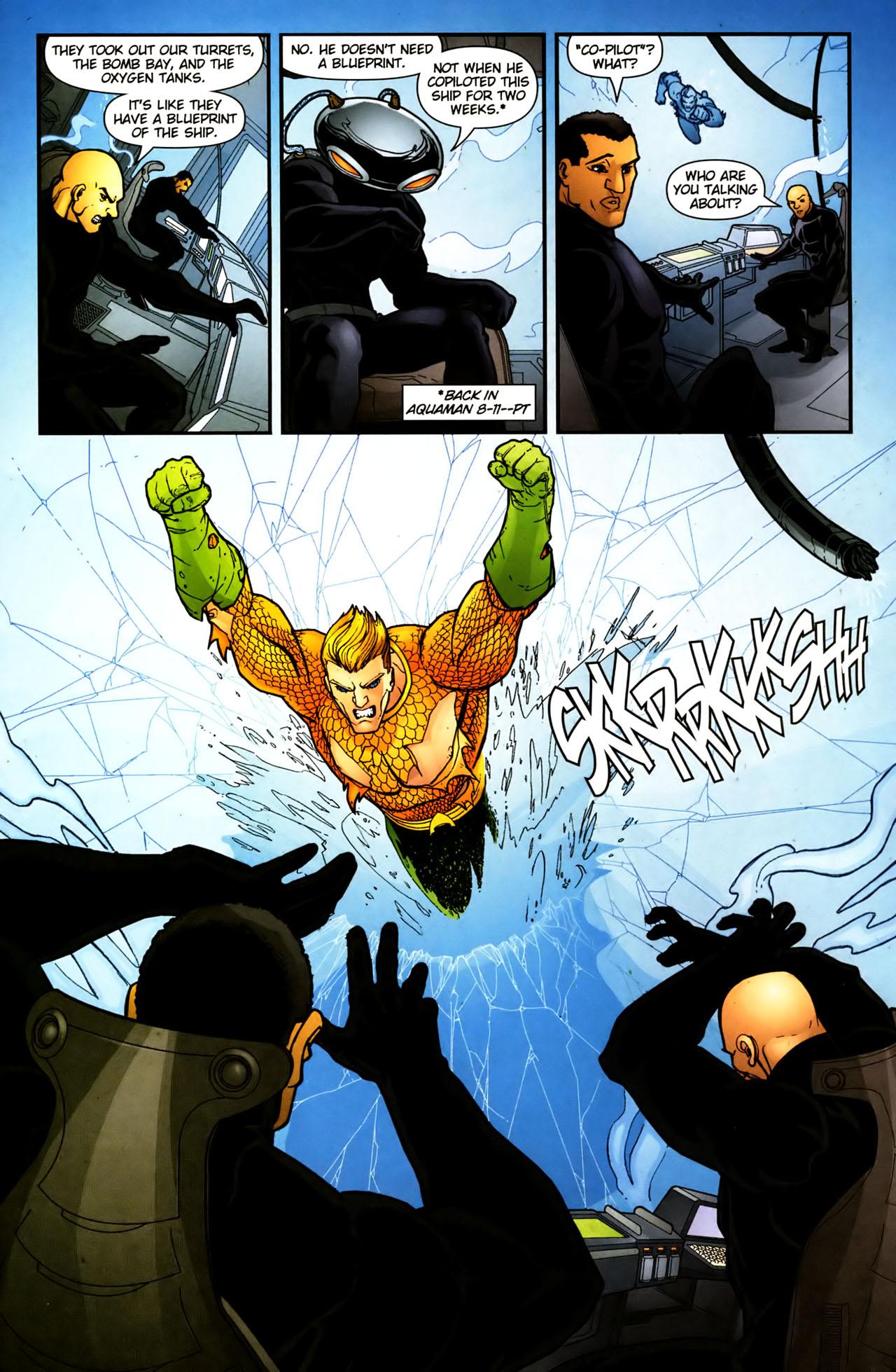Read online Aquaman (2003) comic -  Issue #39 - 16