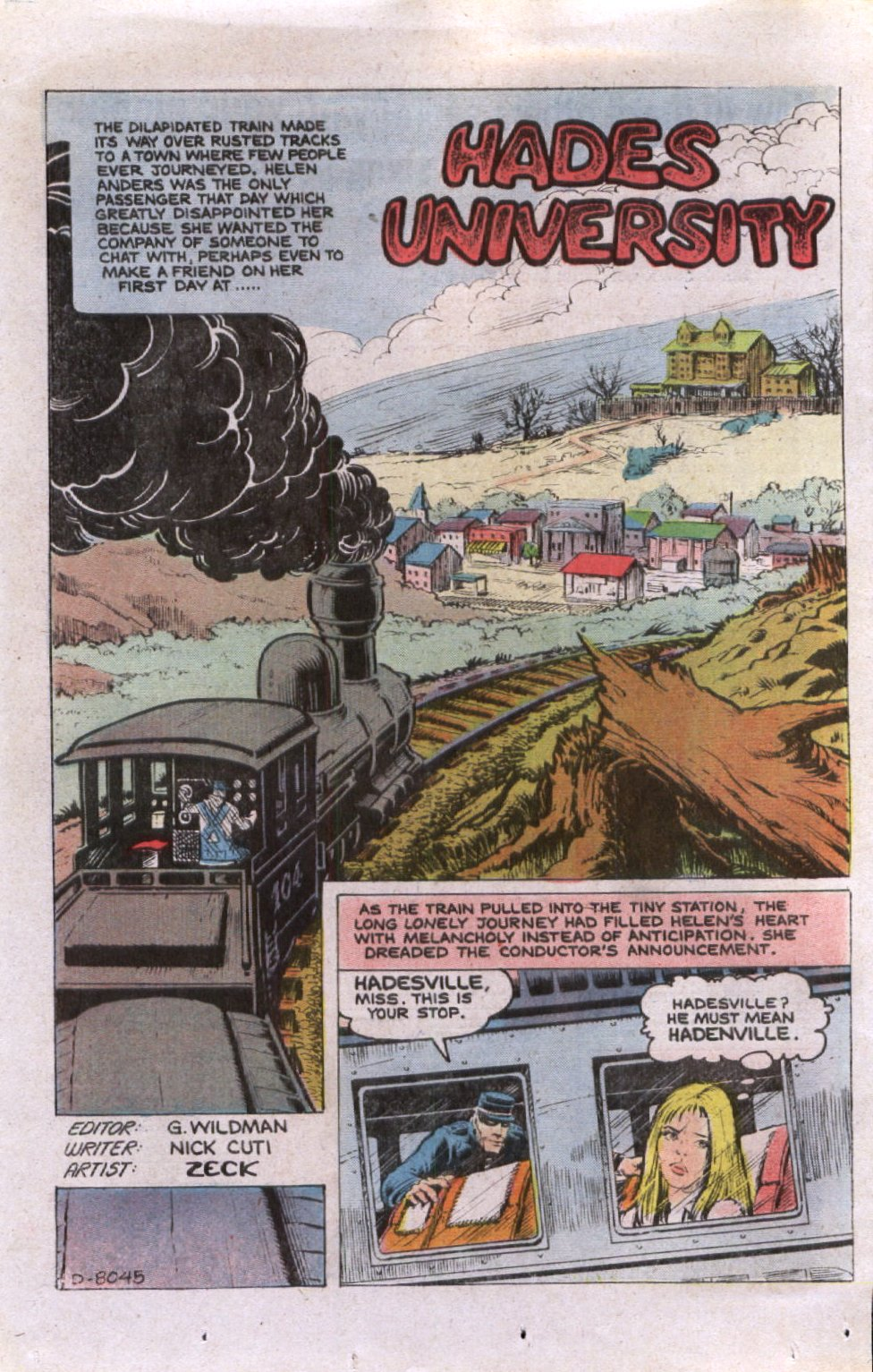Read online Scary Tales comic -  Issue #26 - 24