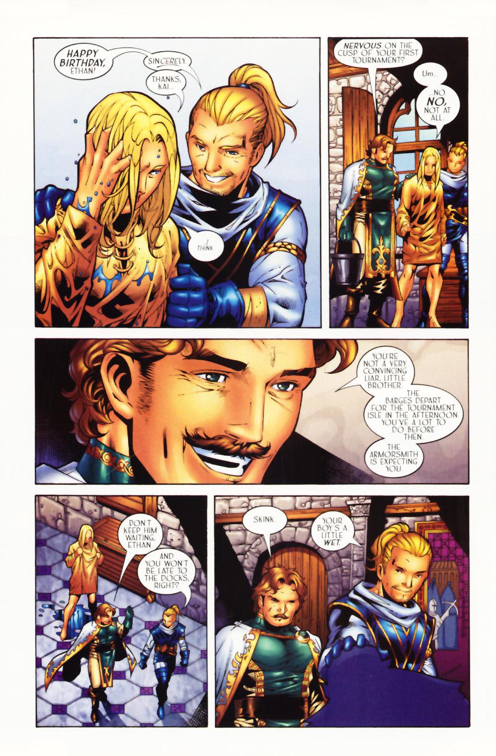 Read online Scion comic -  Issue #1 - 8