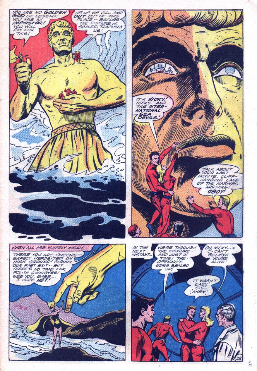 Read online Sea Devils comic -  Issue #29 - 32