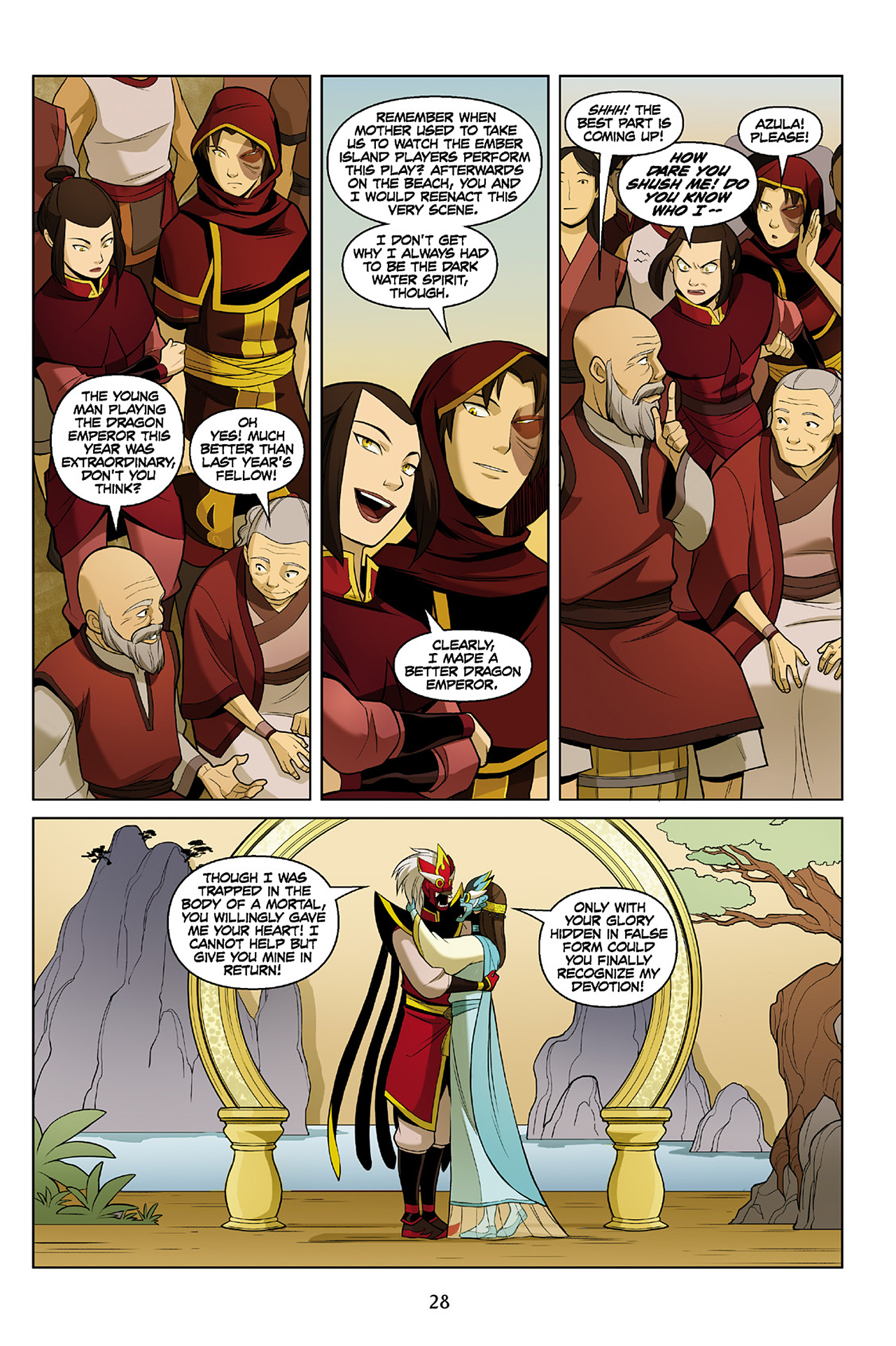 Read online Nickelodeon Avatar: The Last Airbender - The Search comic -  Issue # Part 2 - 29