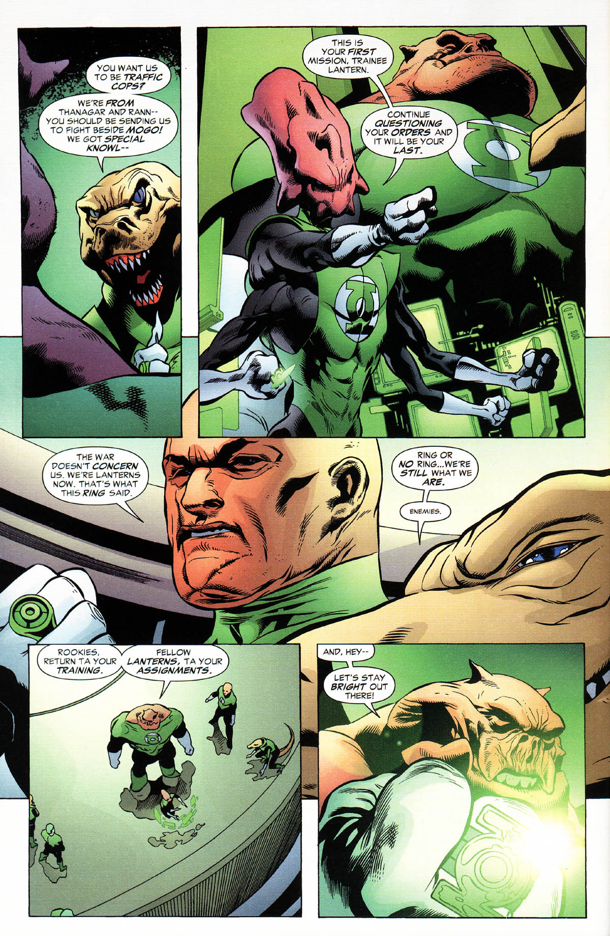 Read online Green Lantern Corps: Recharge comic -  Issue #2 - 6