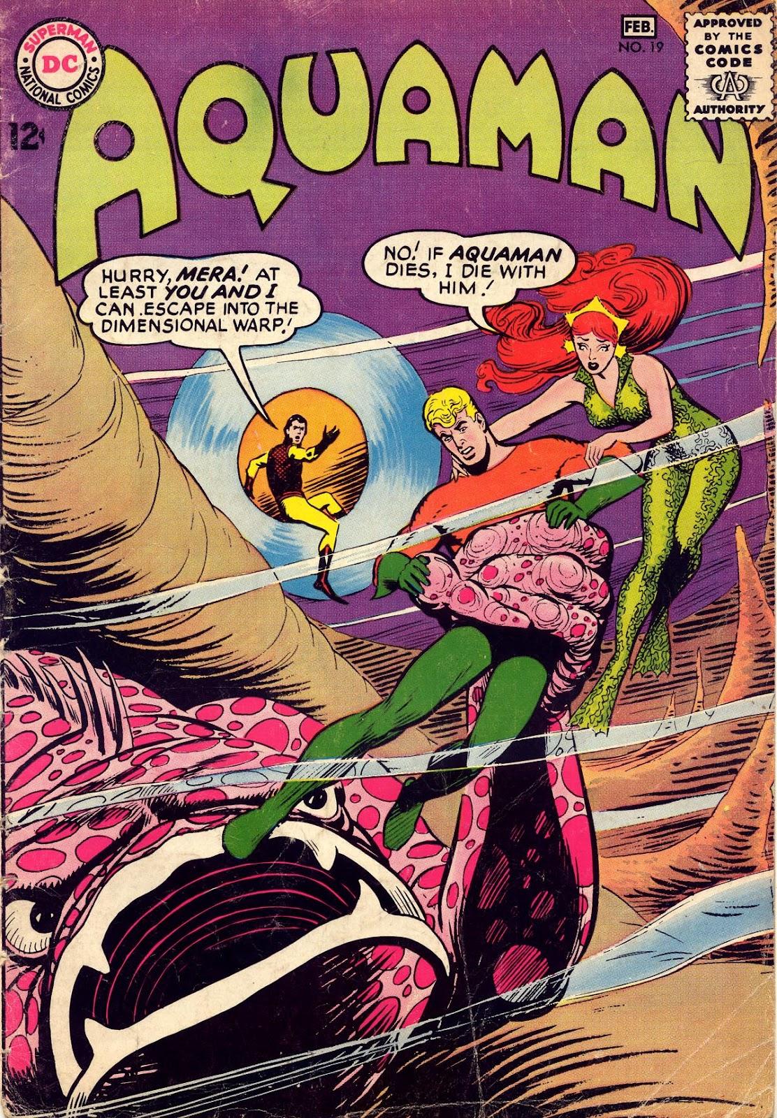 Aquaman (1962) Issue #19 #19 - English 1