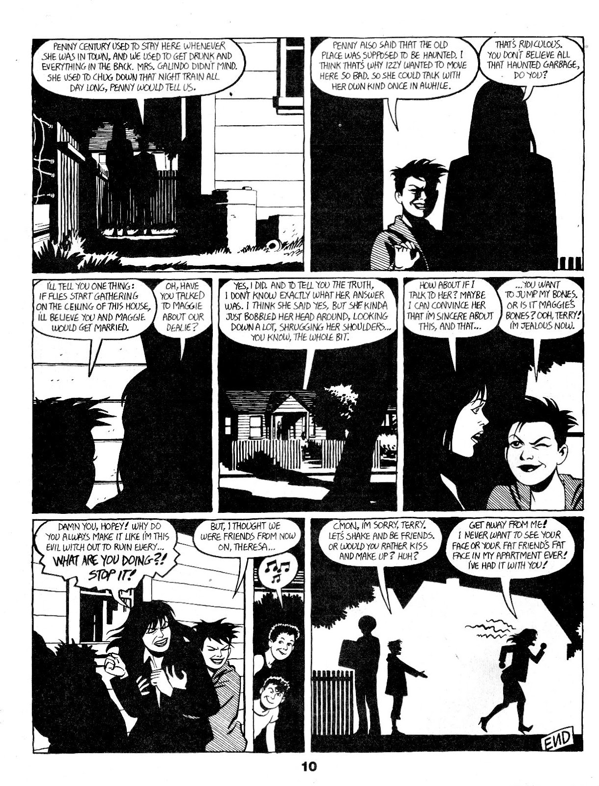 Love and Rockets (1982) Issue #17 #16 - English 12
