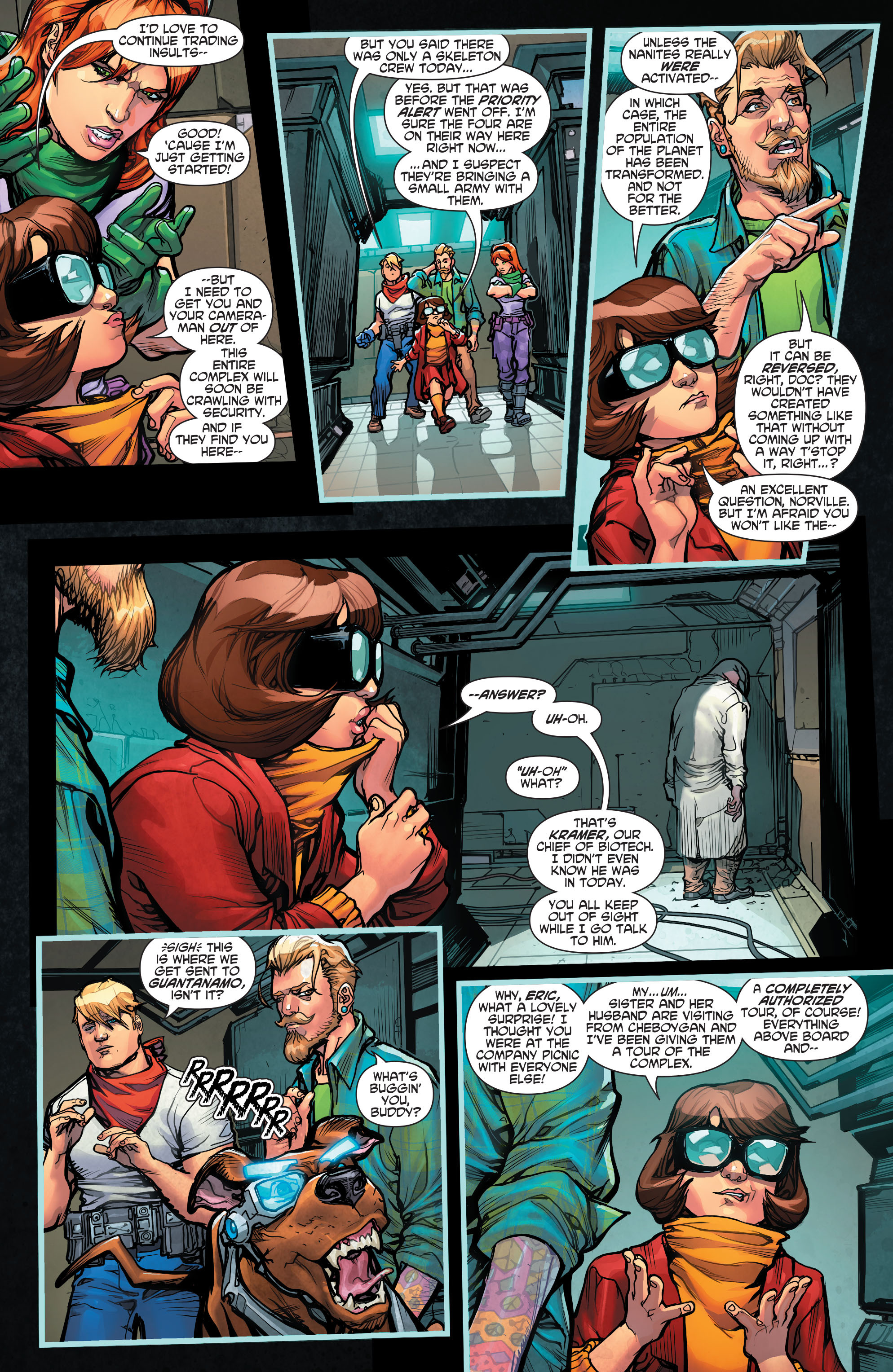 Read online Scooby Apocalypse comic -  Issue #2 - 7
