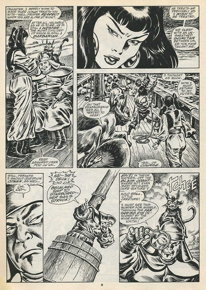 The Savage Sword Of Conan Issue #192 #193 - English 5
