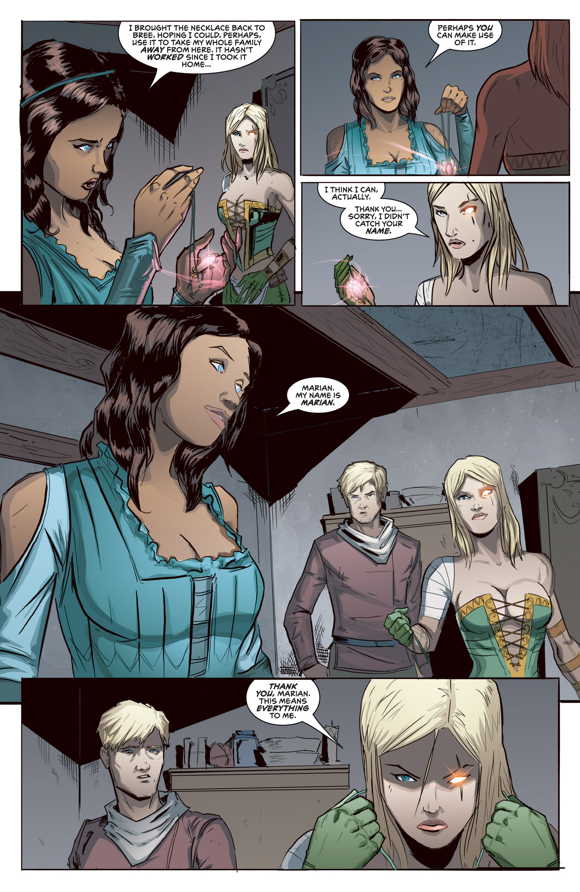 Read online Grimm Fairy Tales presents Robyn Hood (2012) comic -  Issue #5 - 13