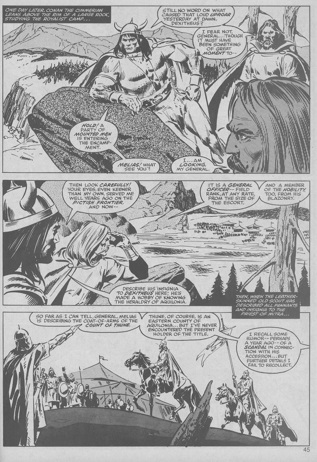 The Savage Sword Of Conan Issue #50 #51 - English 45