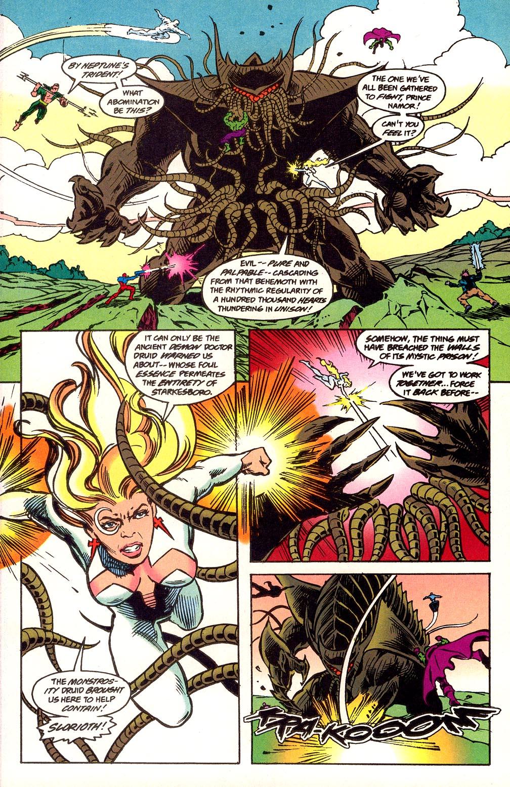 Read online Secret Defenders comic -  Issue #25 - 6