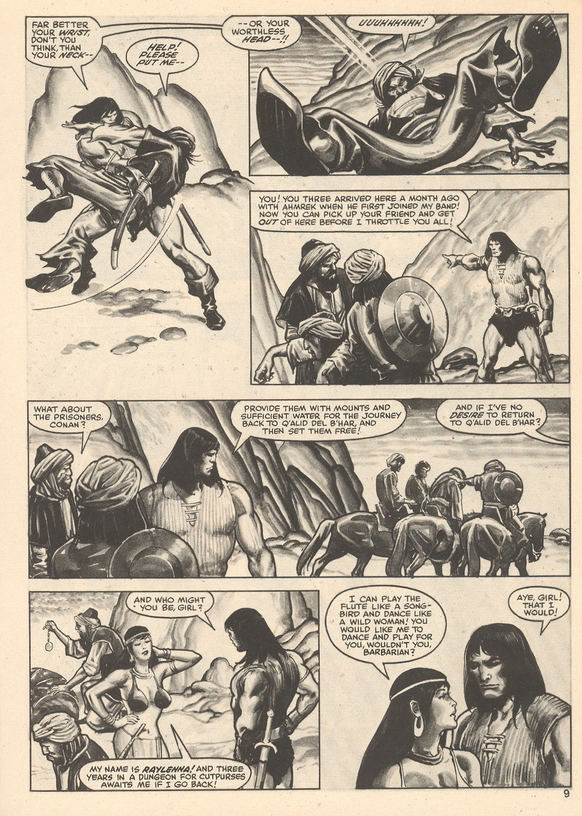 The Savage Sword Of Conan Issue #76 #77 - English 9