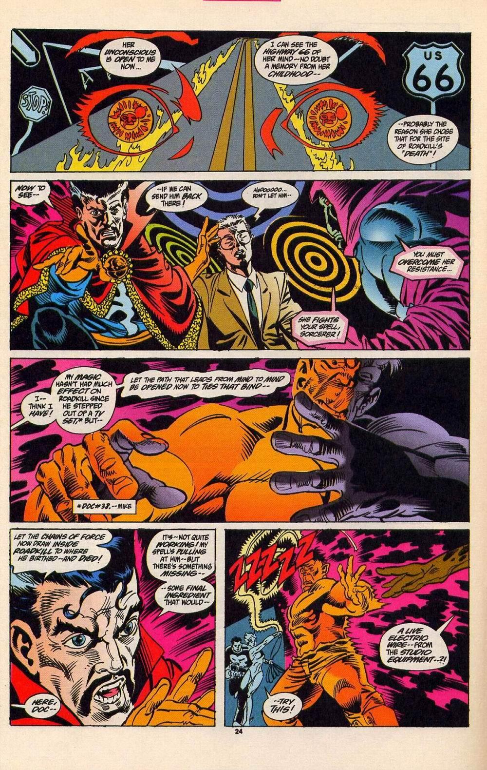 Read online Secret Defenders comic -  Issue #5 - 19